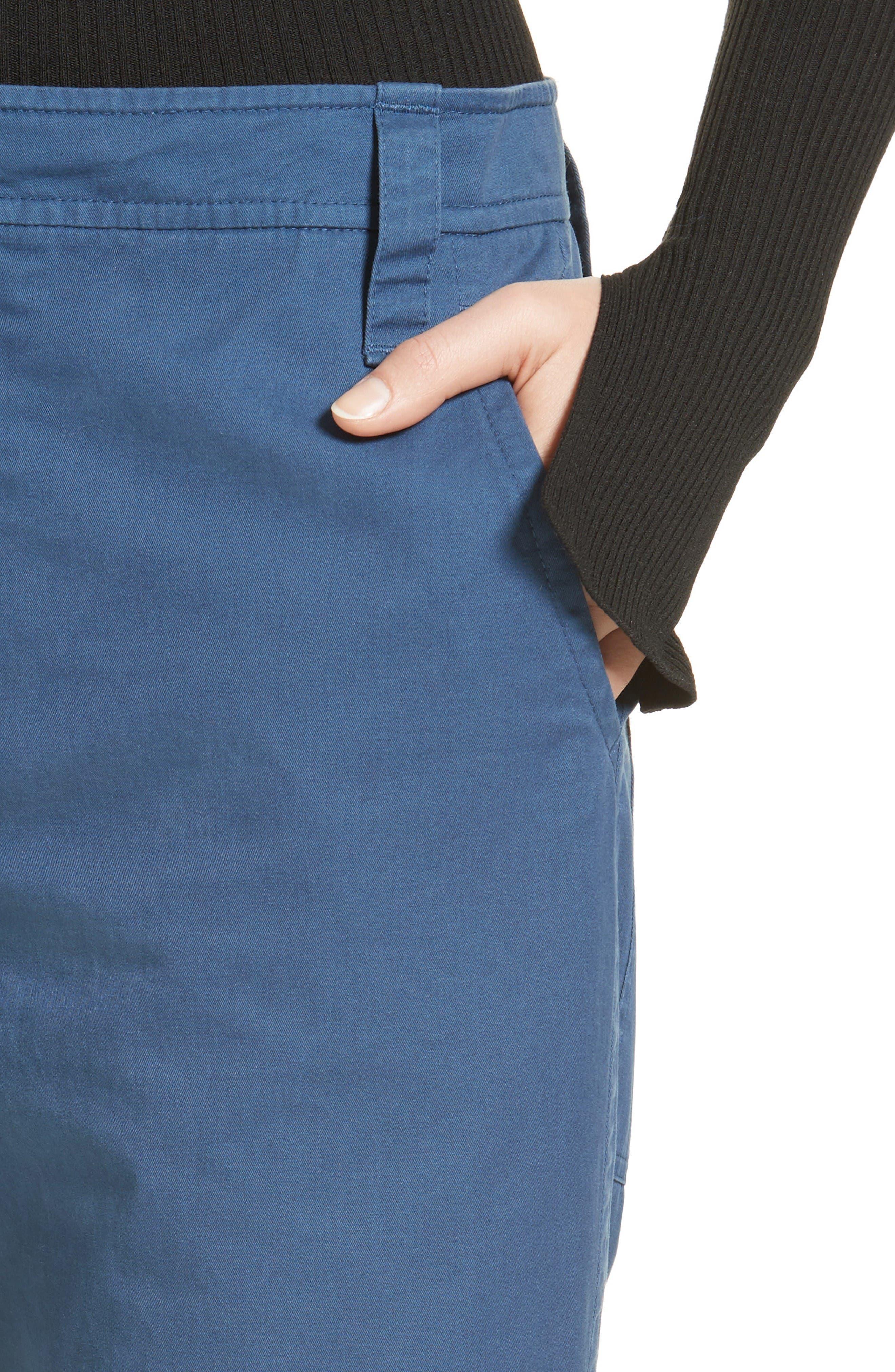 Alternate Image 5  - Tibi Slouchy Enzyme Twill Pants