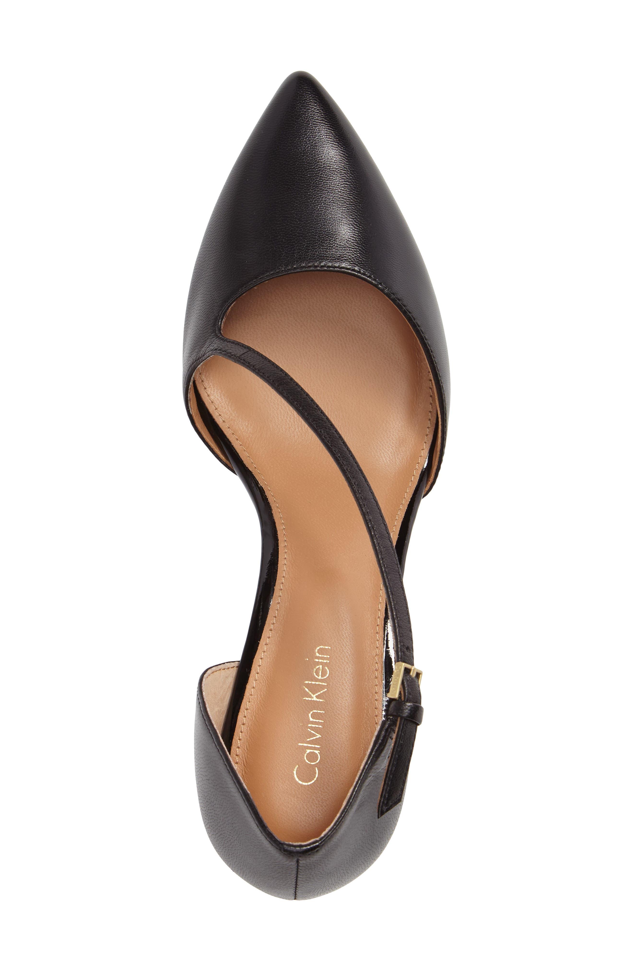 Alternate Image 3  - Calvin Klein Page Pointy Toe Pump (Women)