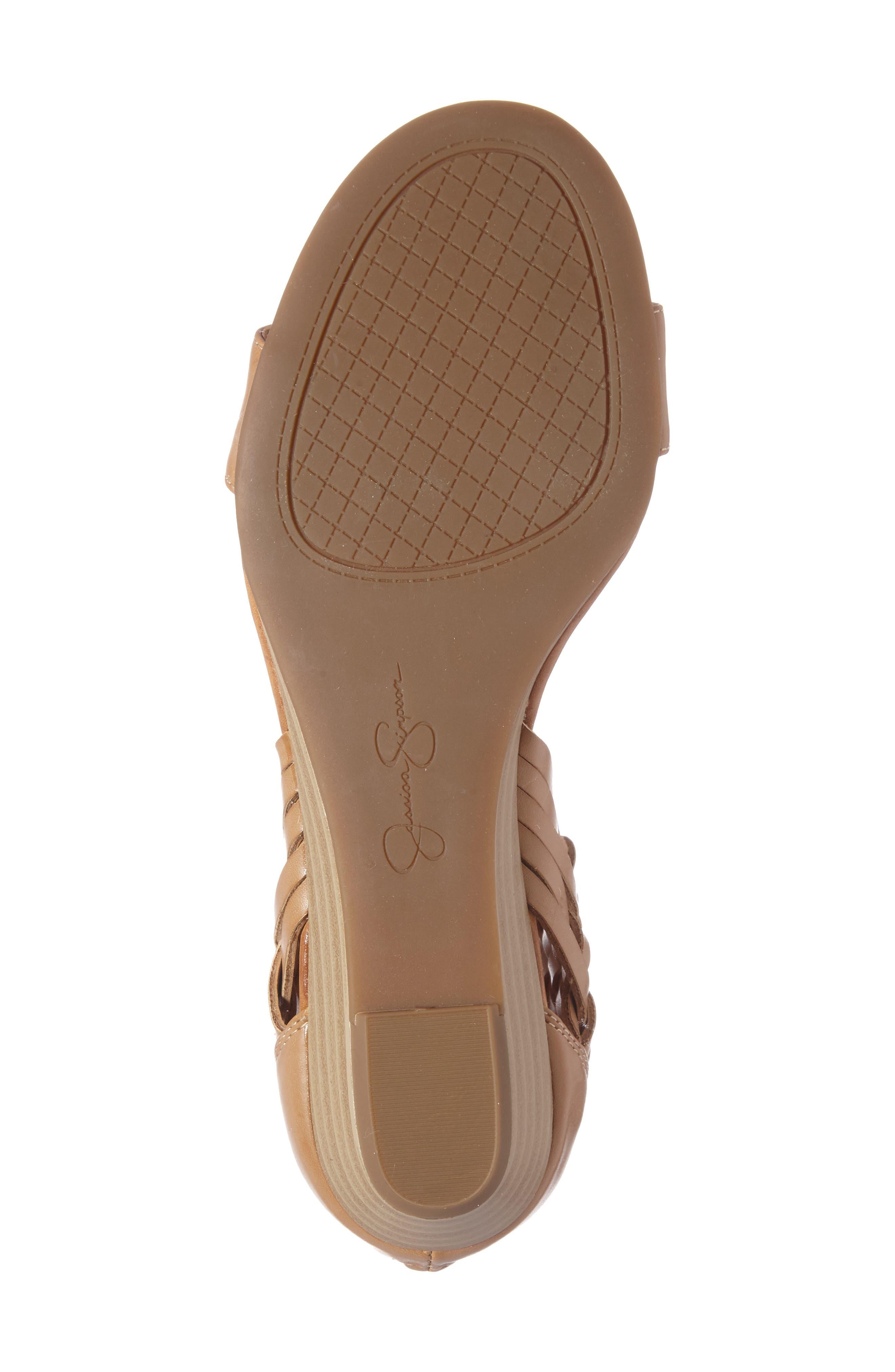 Alternate Image 4  - Jessica Simpson Lourra Woven Sandal (Women)
