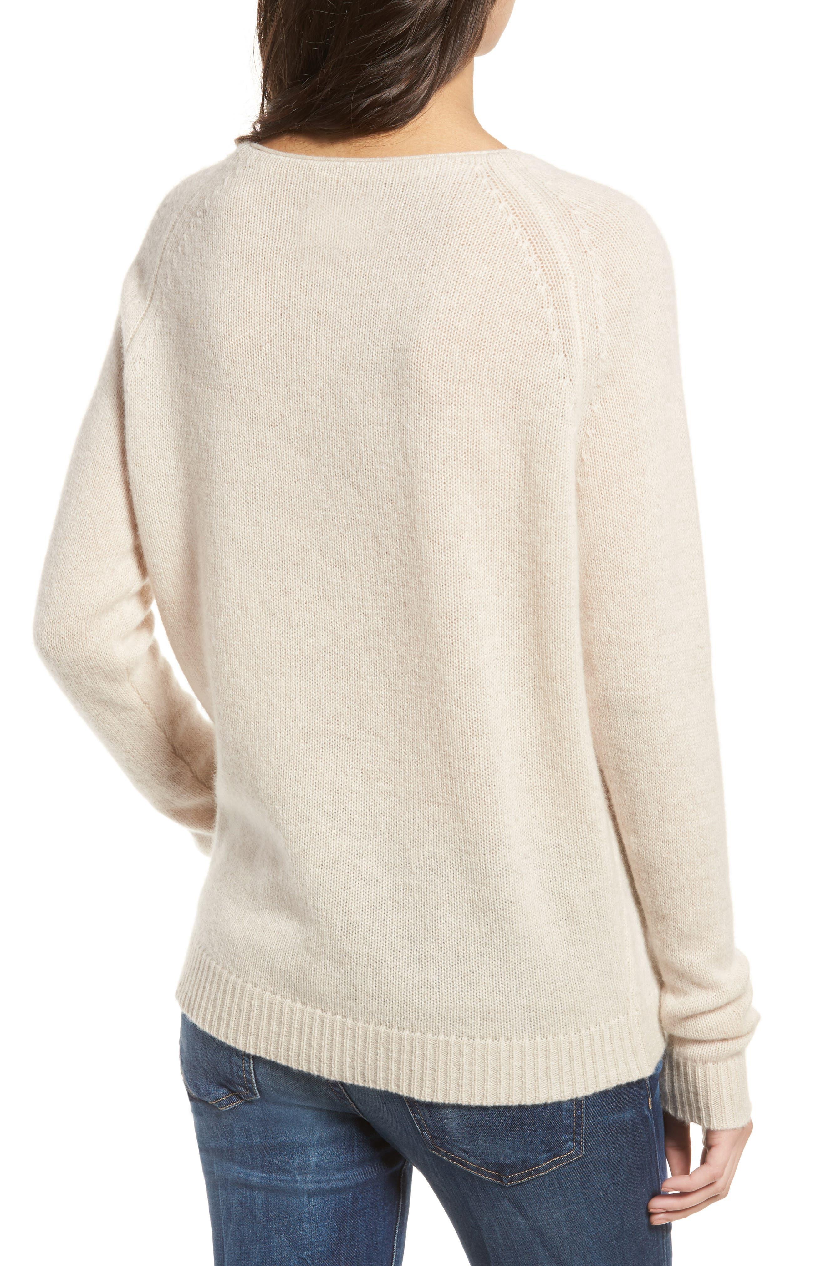 Alternate Image 2  - Zadig & Voltaire Baly Bis Cashmere Sweater