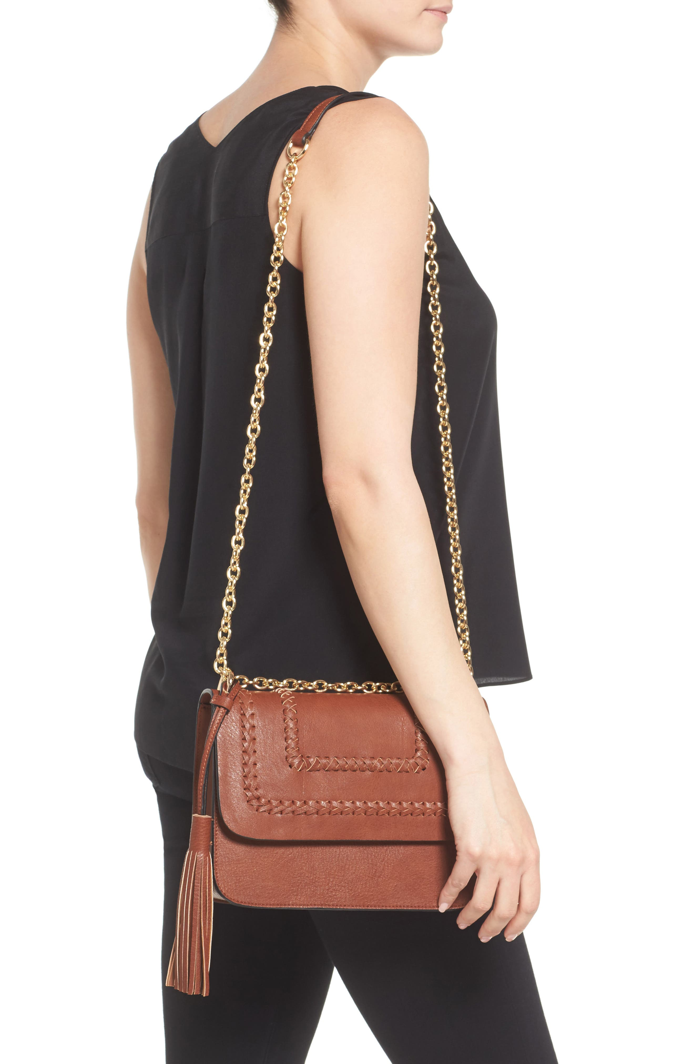 Alternate Image 2  - Chelsea28 Chace Faux Leather Shoulder Bag