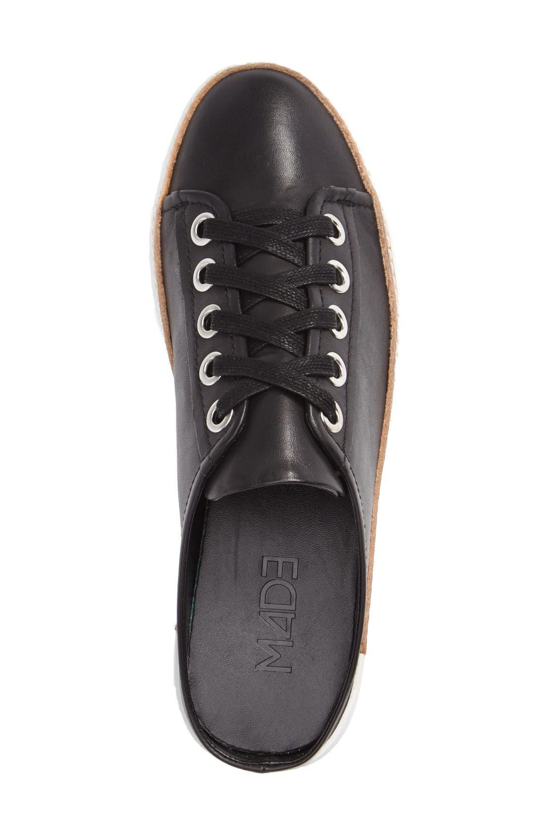 M4D3 Slide Platform Sneaker,                             Alternate thumbnail 3, color,                             Black
