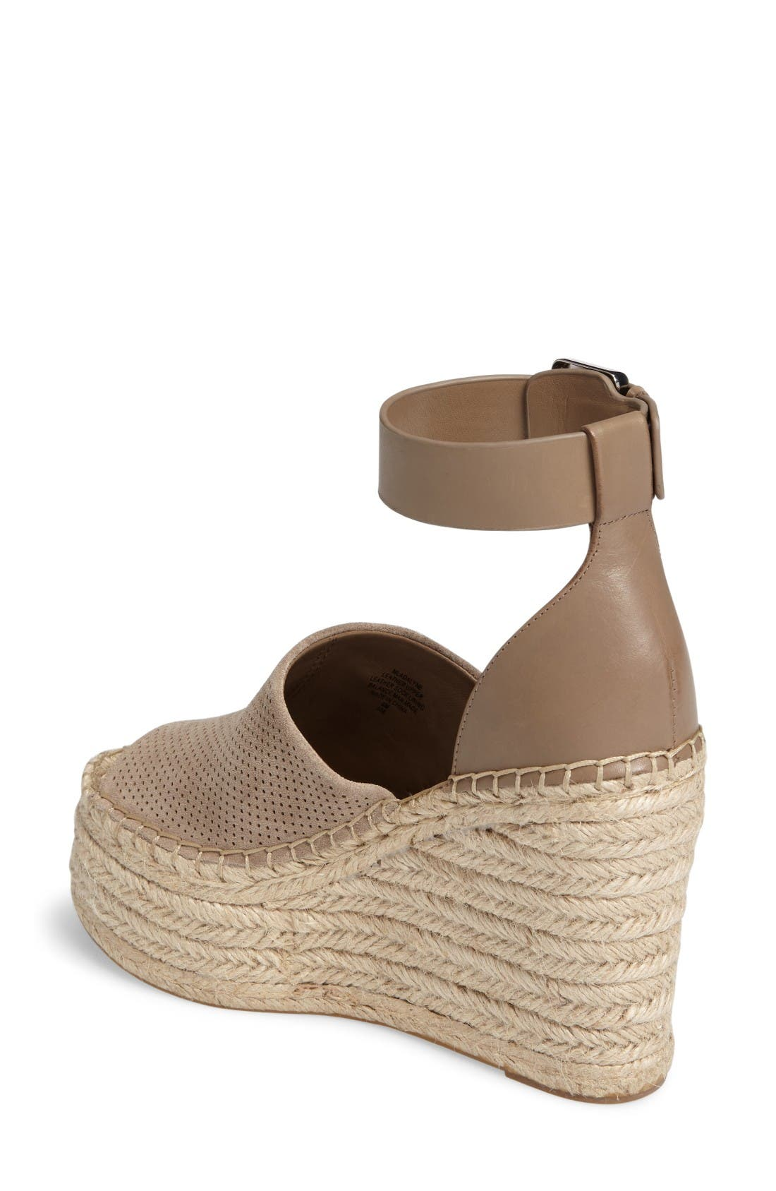 Adalyne Platform Wedge,                             Alternate thumbnail 2, color,                             Tan Suede