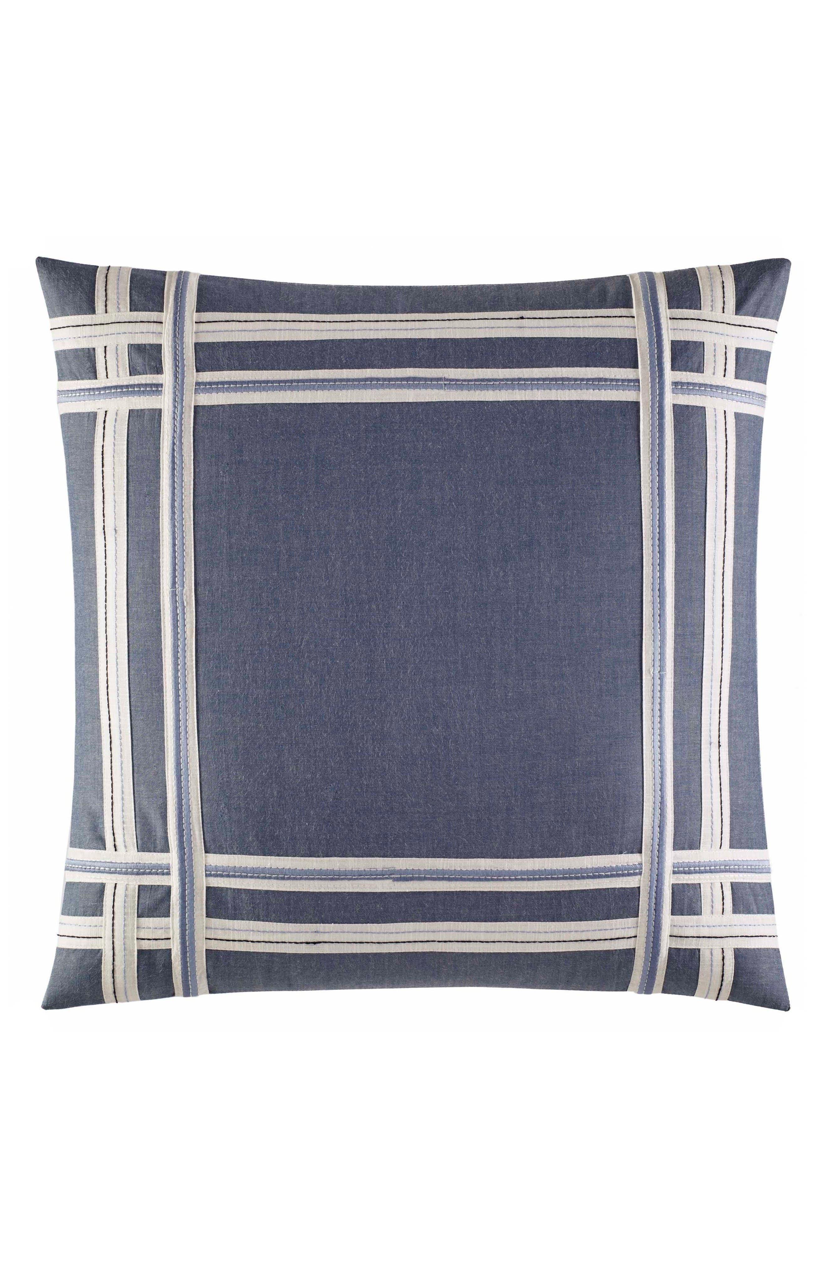 Fairwater Pillow,                         Main,                         color, Blue