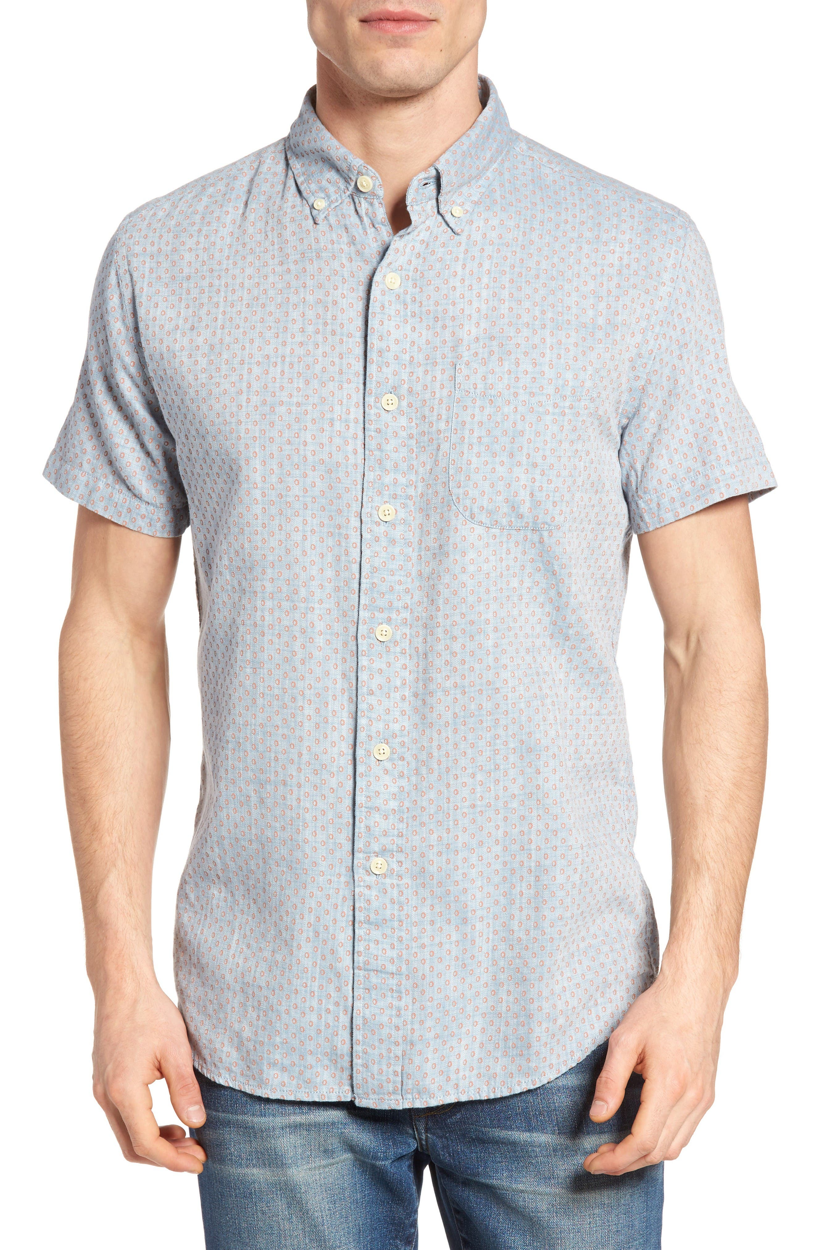 Grayers Ahab Print Sport Shirt