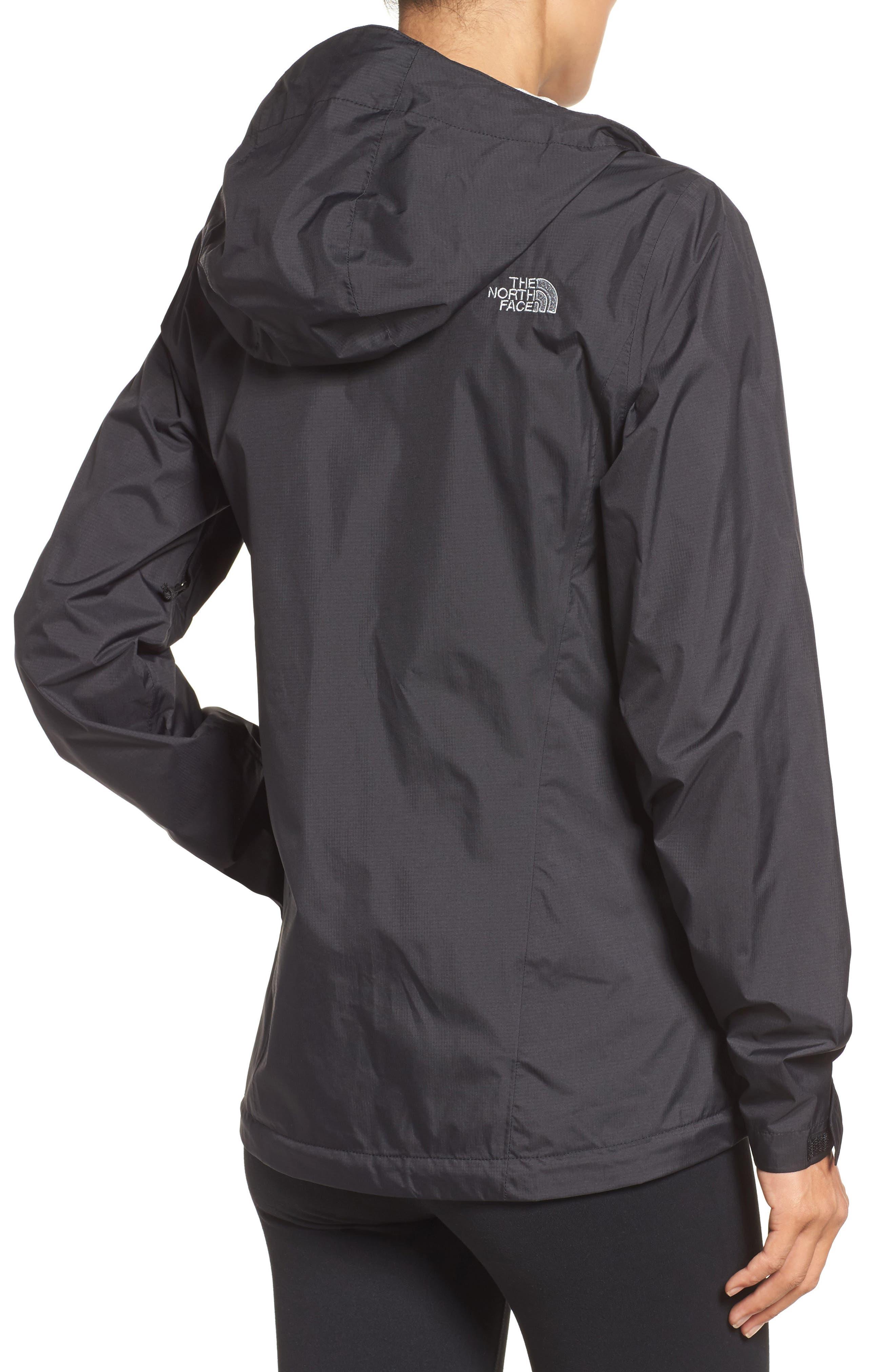 Venture 2 Waterproof Jacket,                             Alternate thumbnail 2, color,                             Tnf Black