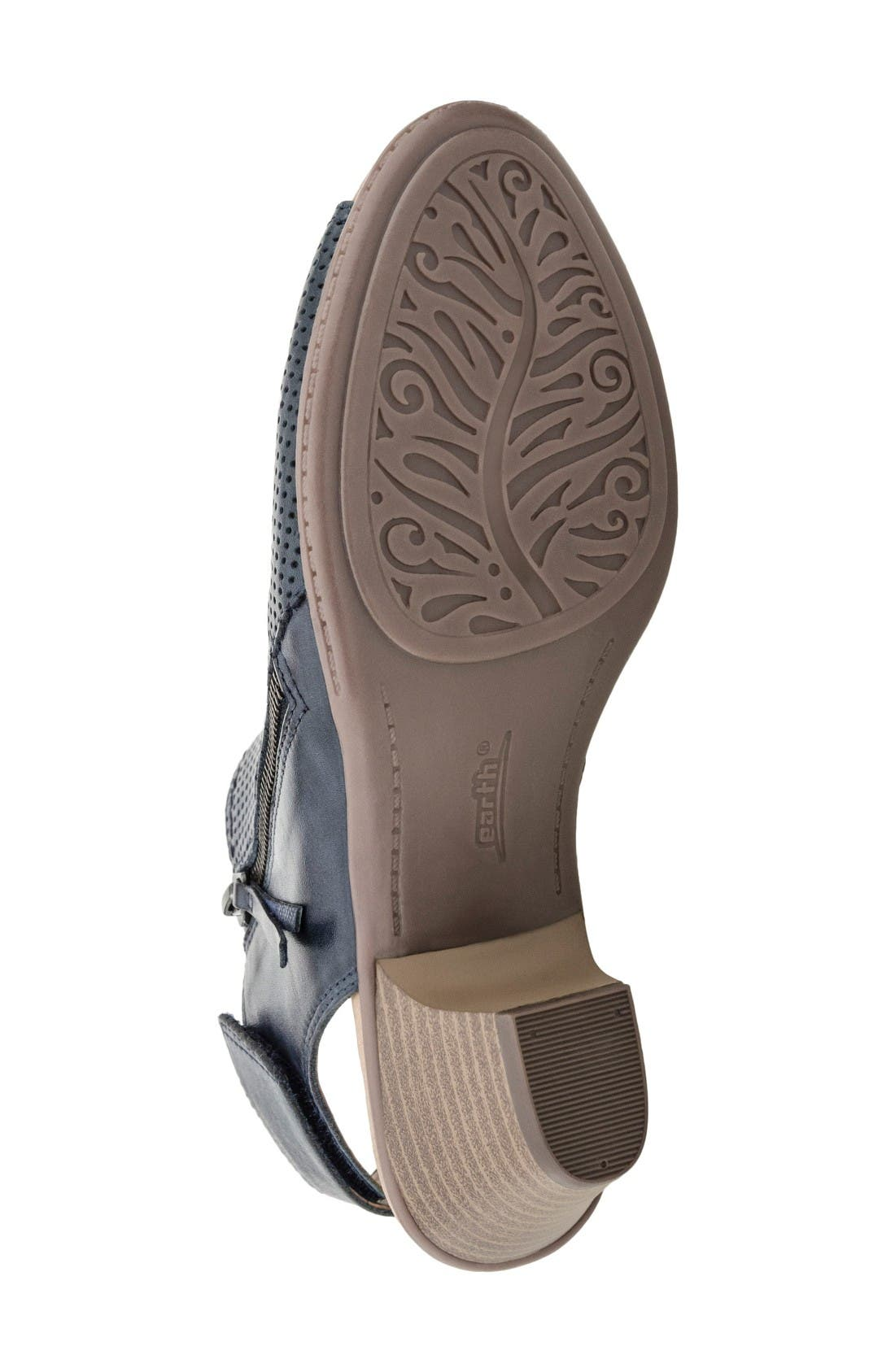 Hydra Sandal,                             Alternate thumbnail 4, color,                             Admiral Blue Soft Leather