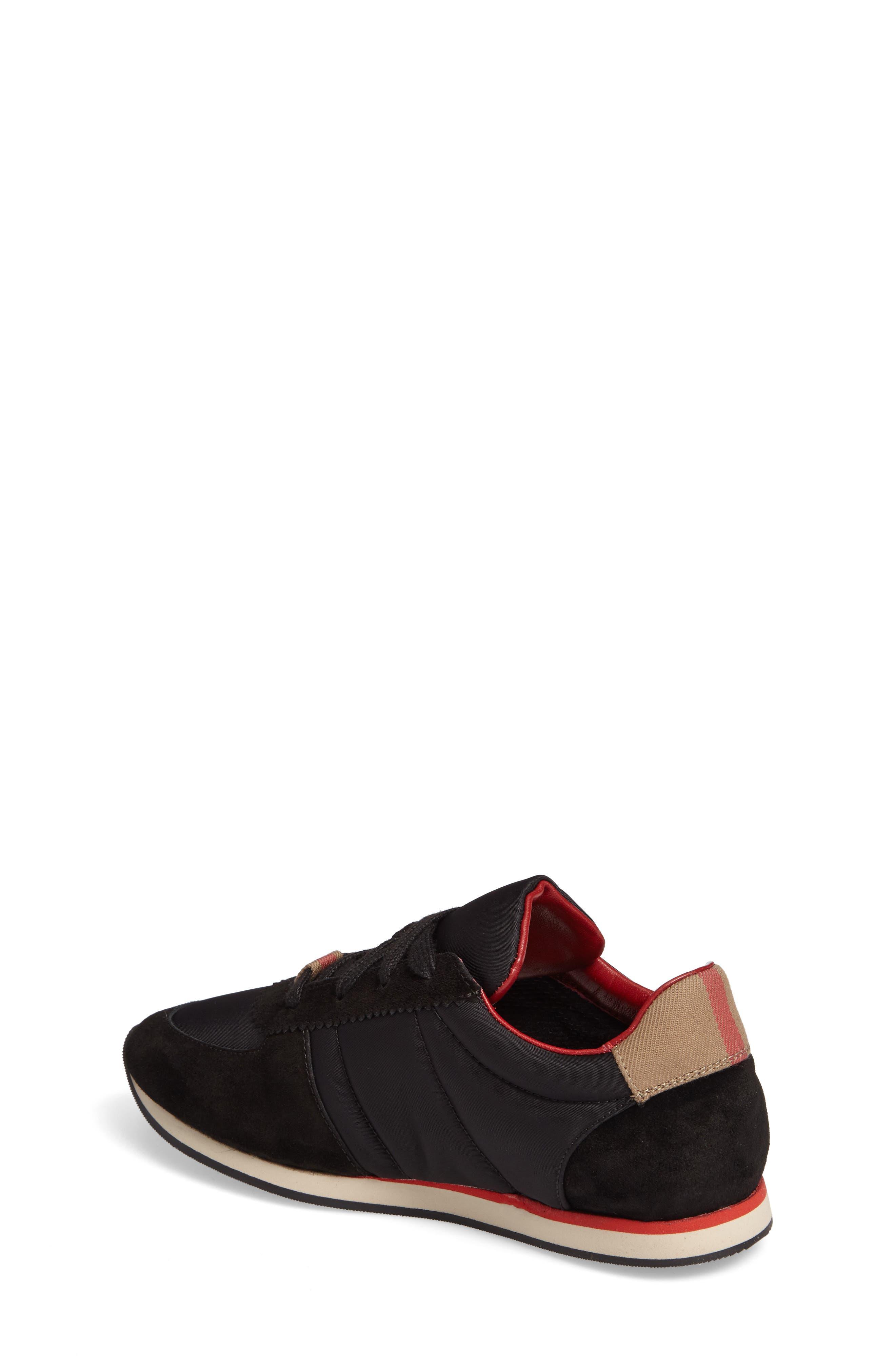 Alternate Image 2  - Burberry Mini Track Sneaker (Walker, Toddler & Little Kid)