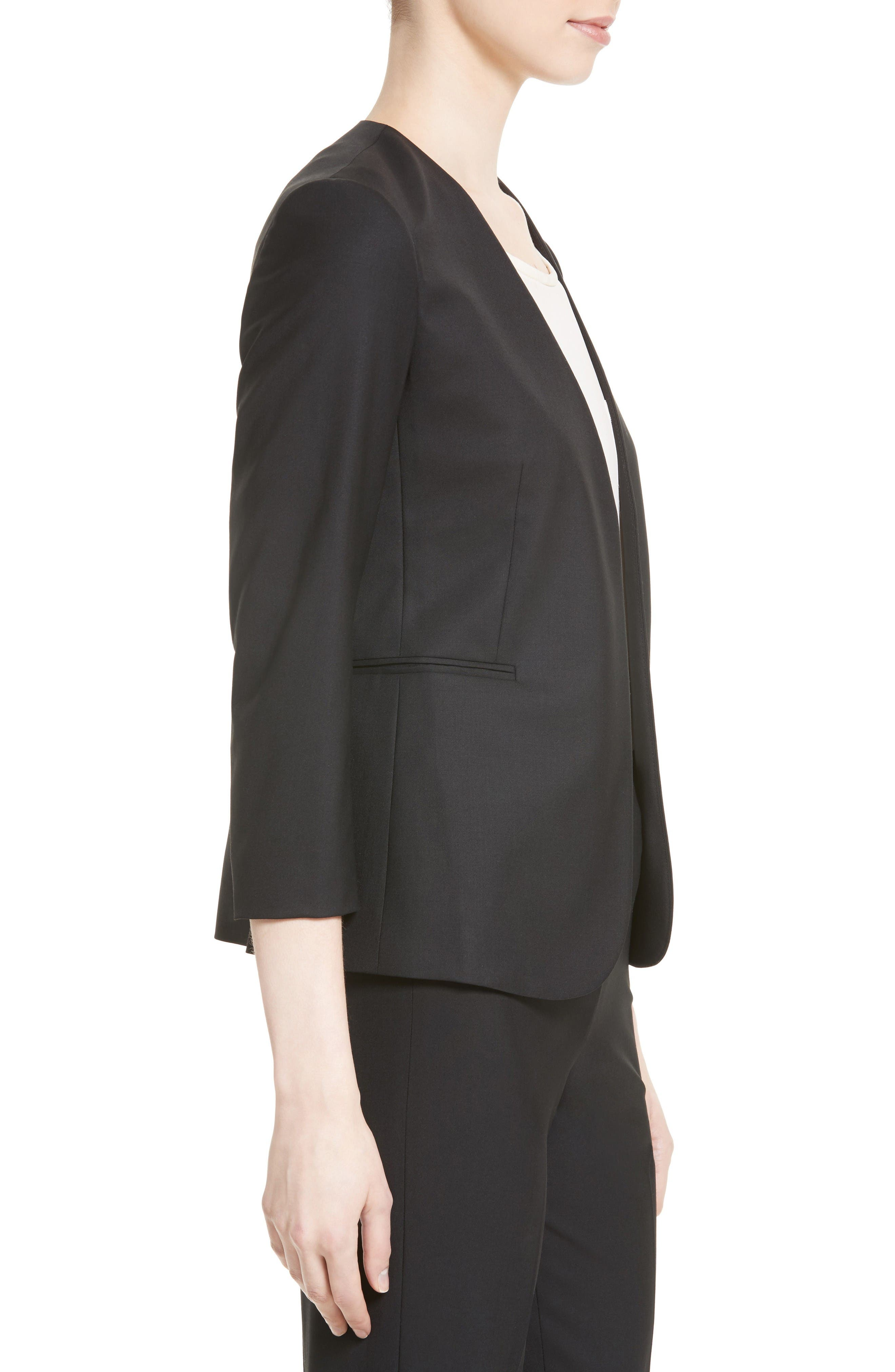 Alternate Image 3  - Theory Lindrayia B Good Wool Suit Jacket (Nordstrom Exclusive)