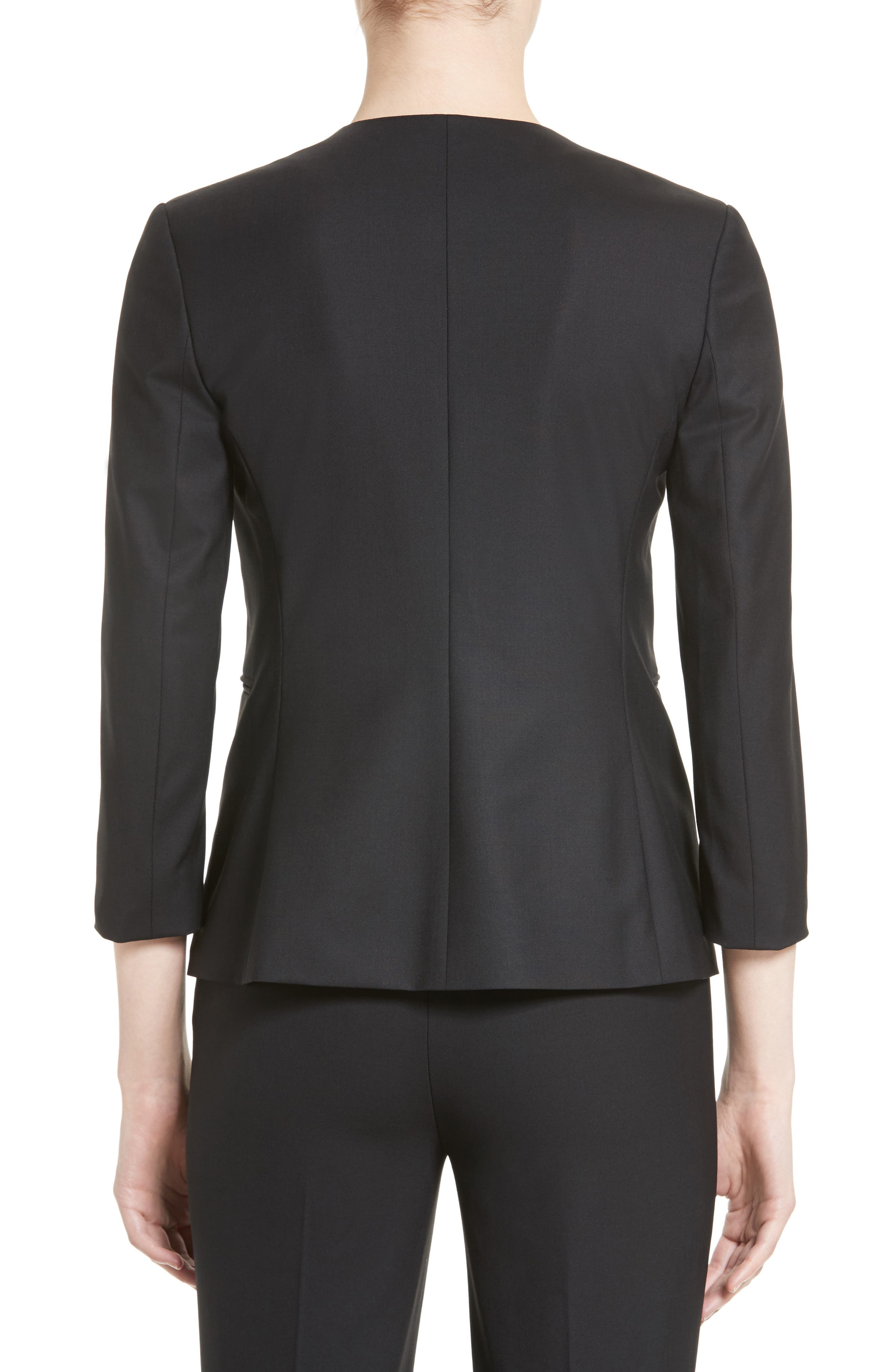 Alternate Image 2  - Theory Lindrayia B Good Wool Suit Jacket (Nordstrom Exclusive)