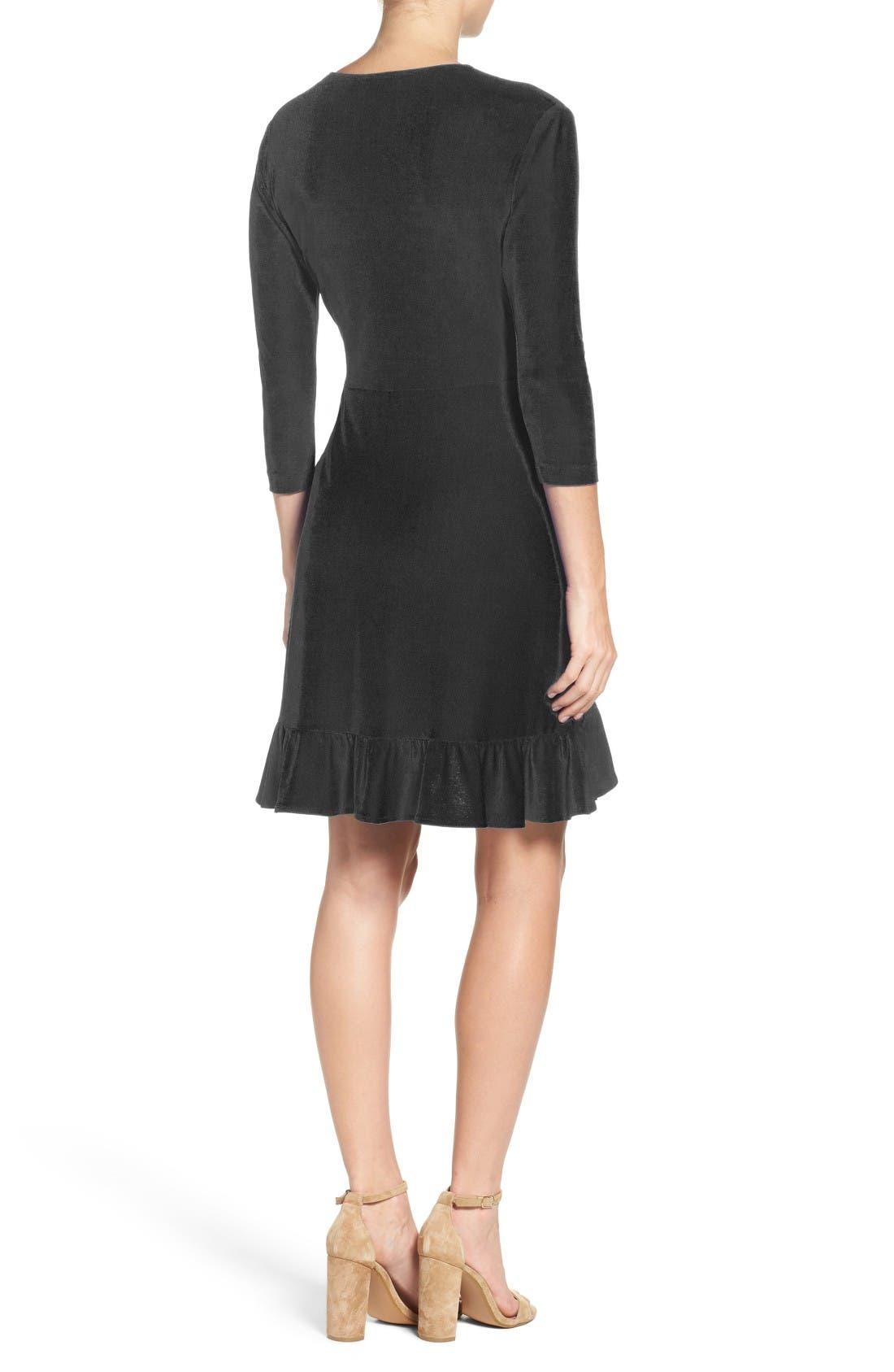 Alternate Image 2  - ECI Wrap Dress