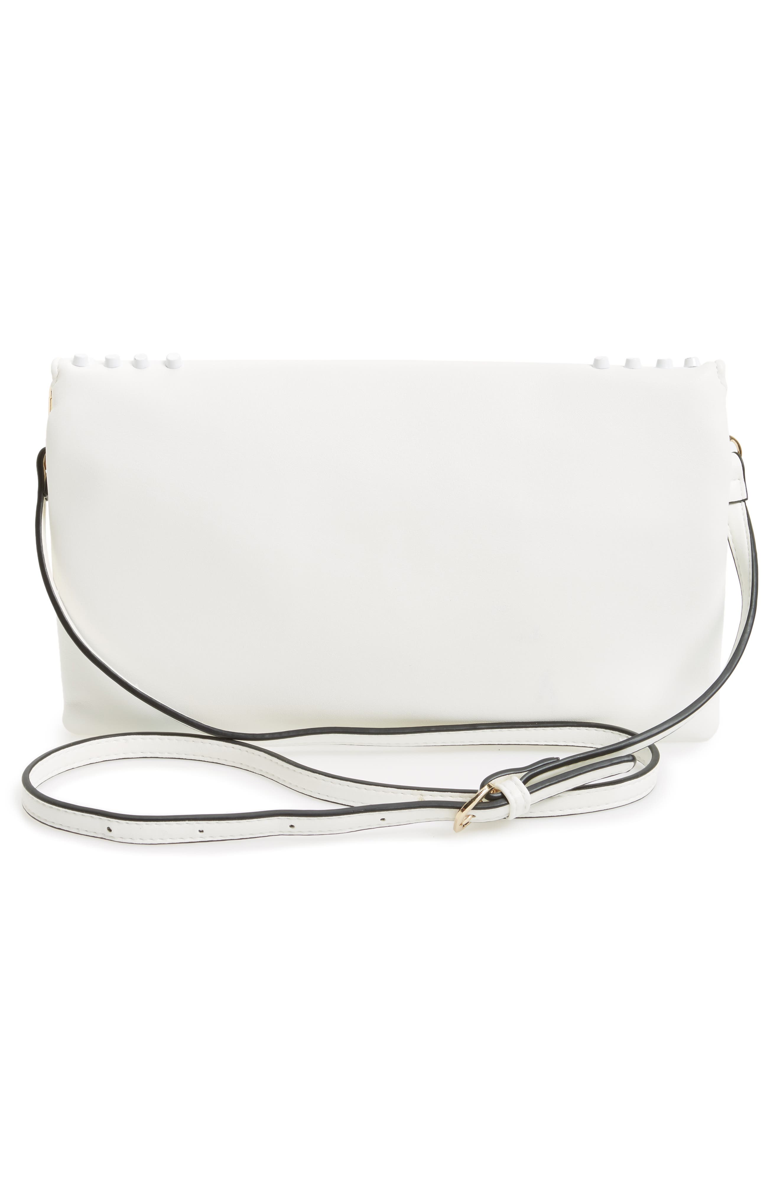 Alternate Image 2  - Sondra Roberts Studded Faux Leather Envelope Clutch