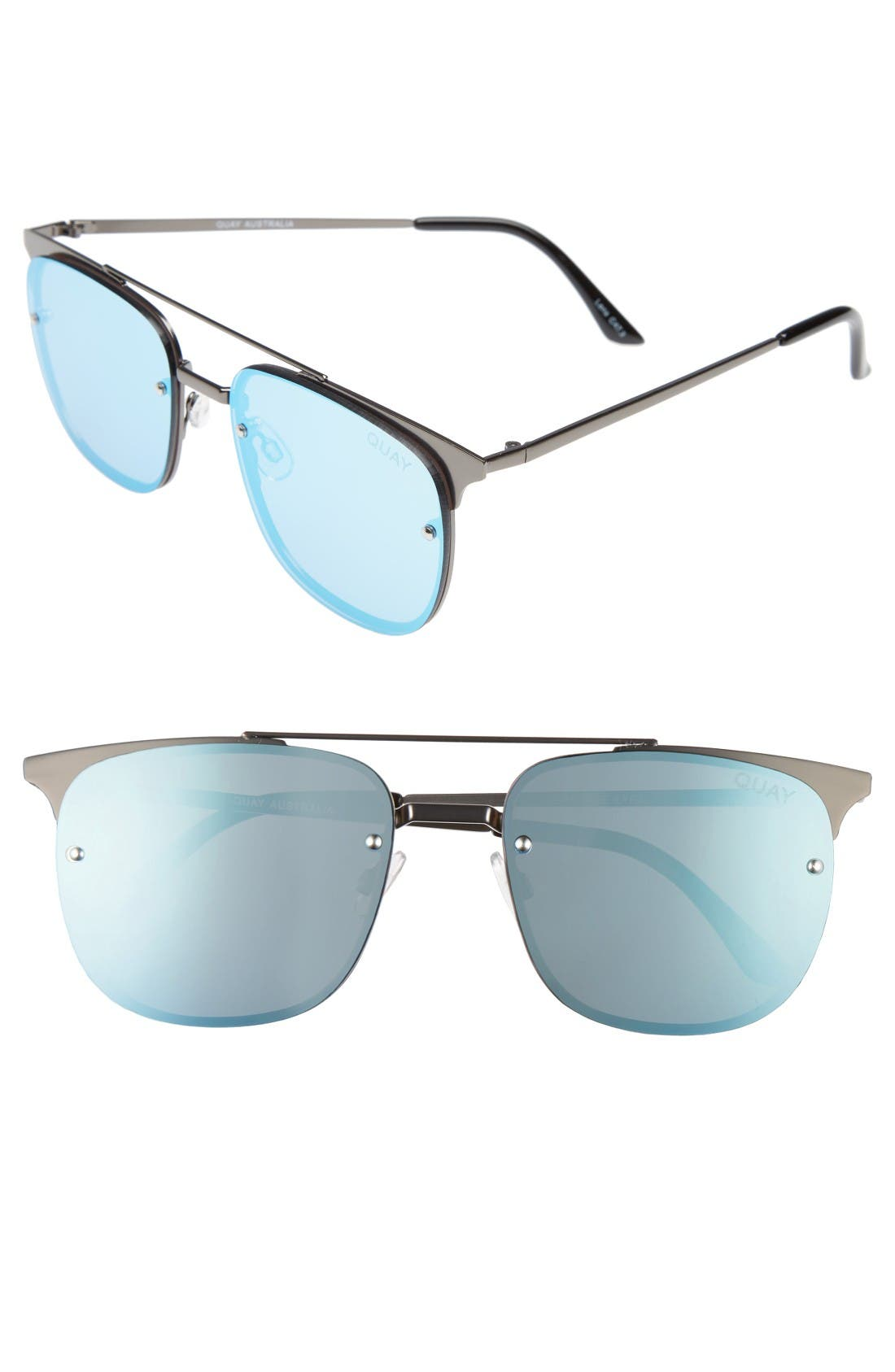 QUAY AUSTRALIA Private Eyes 55mm Sunglasses