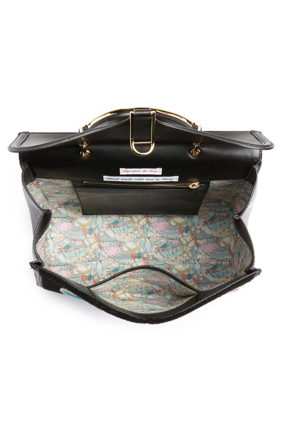 Alternate Image 3  - Olympia Le-Tan Beaded Patches Satchel