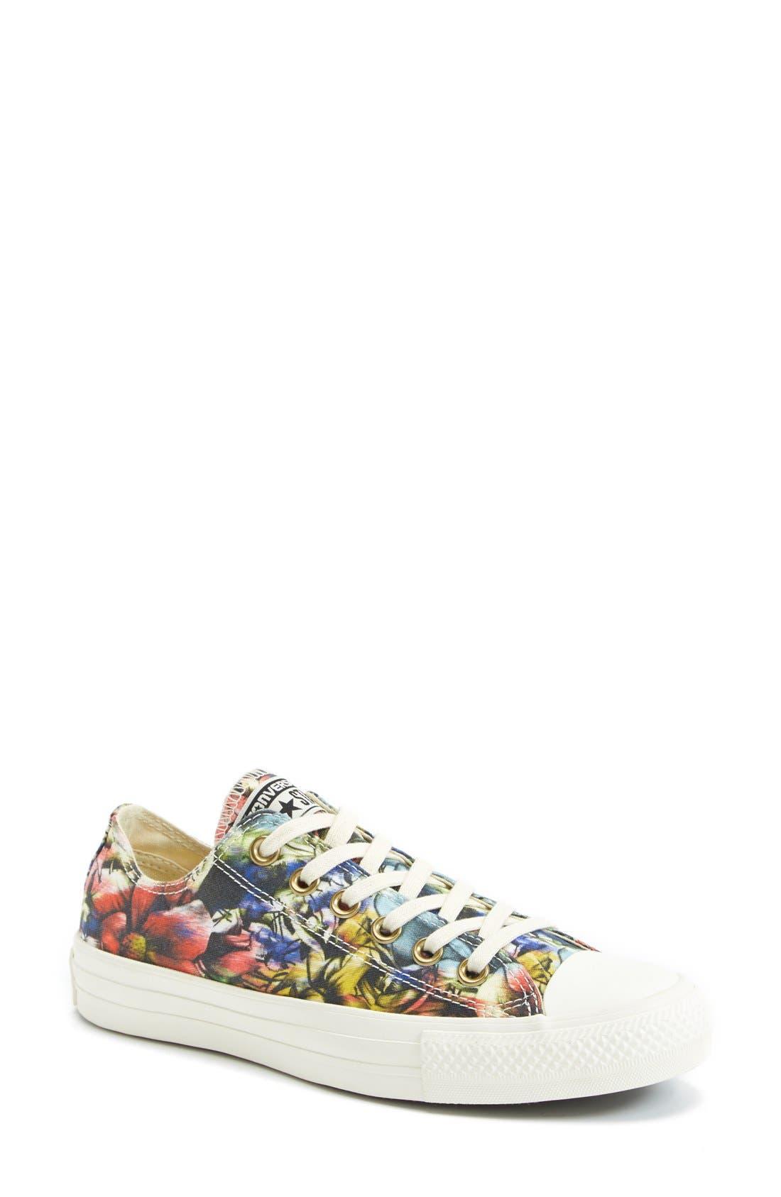Alternate Image 1 Selected - Converse Chuck Taylor® Floral Print Sneaker (Women)