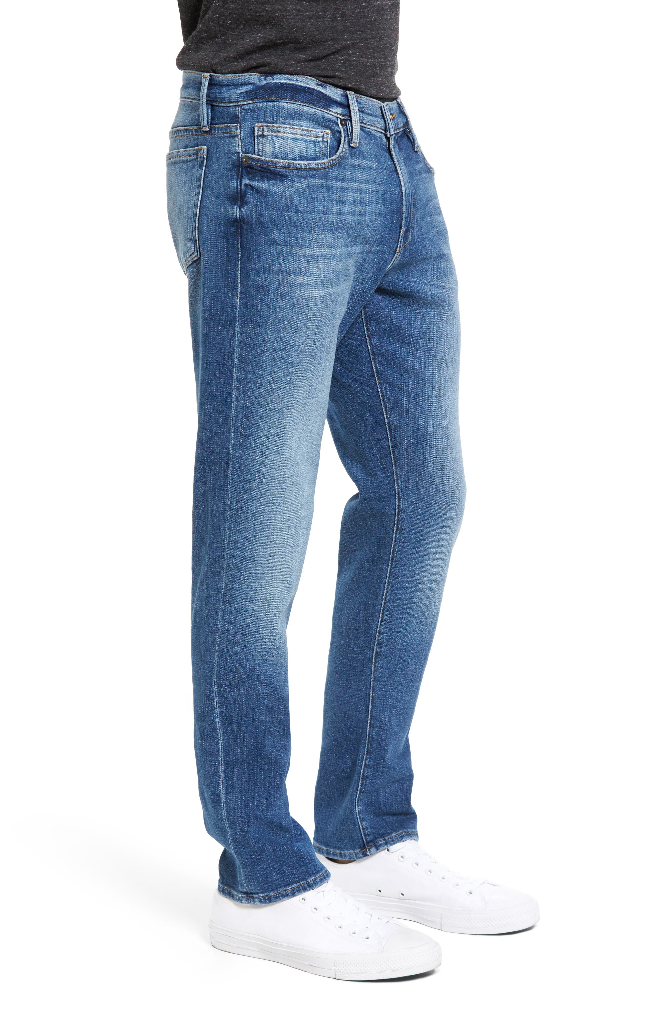 L'Homme Slim Fit Jeans,                             Alternate thumbnail 3, color,                             Palo Alto