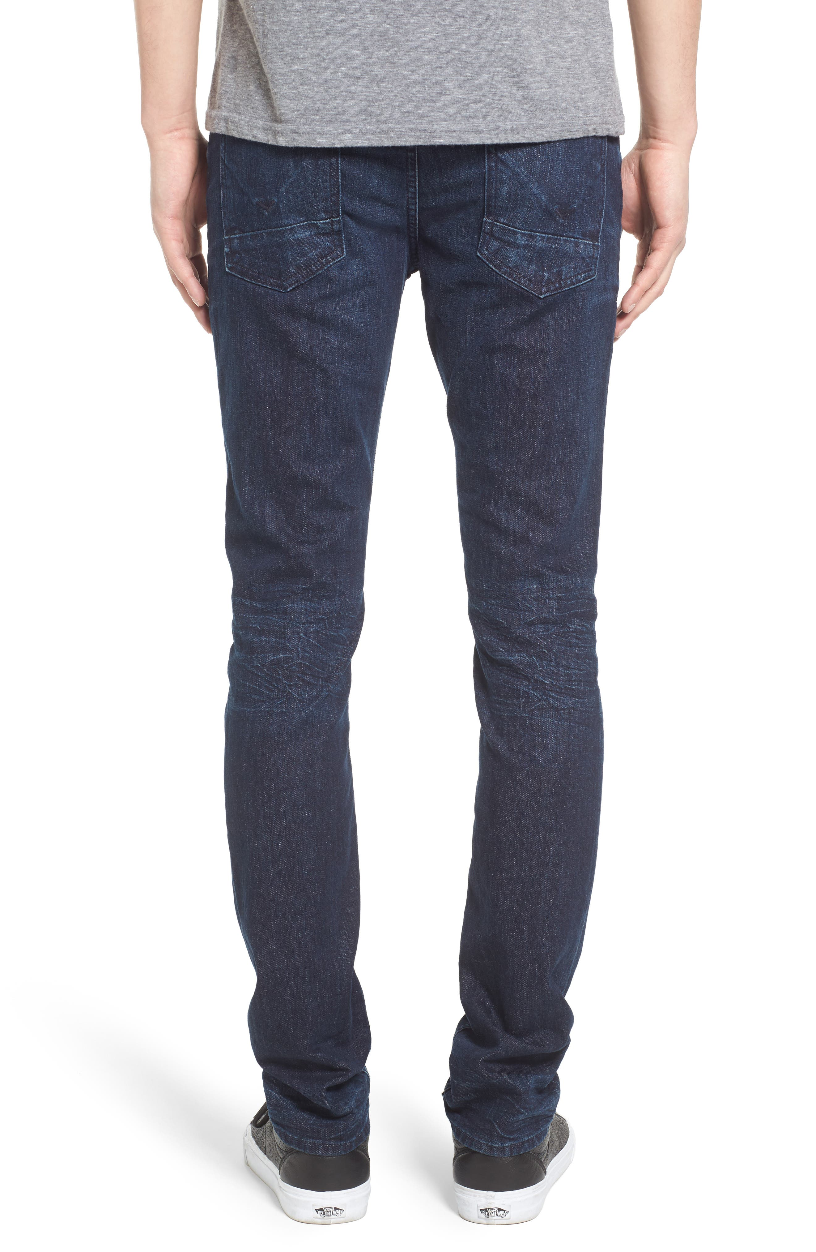 Alternate Image 2  - Hudson Jeans Axl Skinny Fit Jeans (Glove Game)