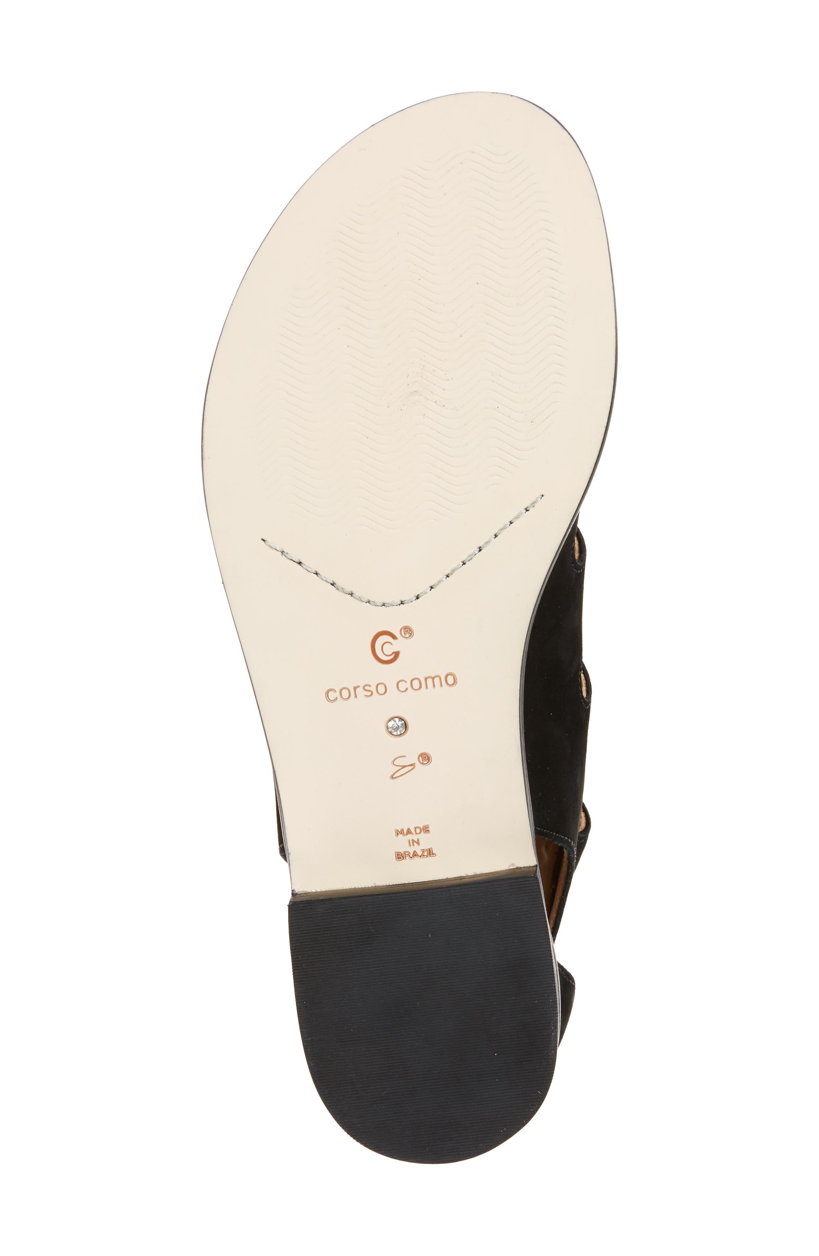 Alternate Image 4  - Corso Como Sunrise Ghillie Gladiator Sandal (Women)