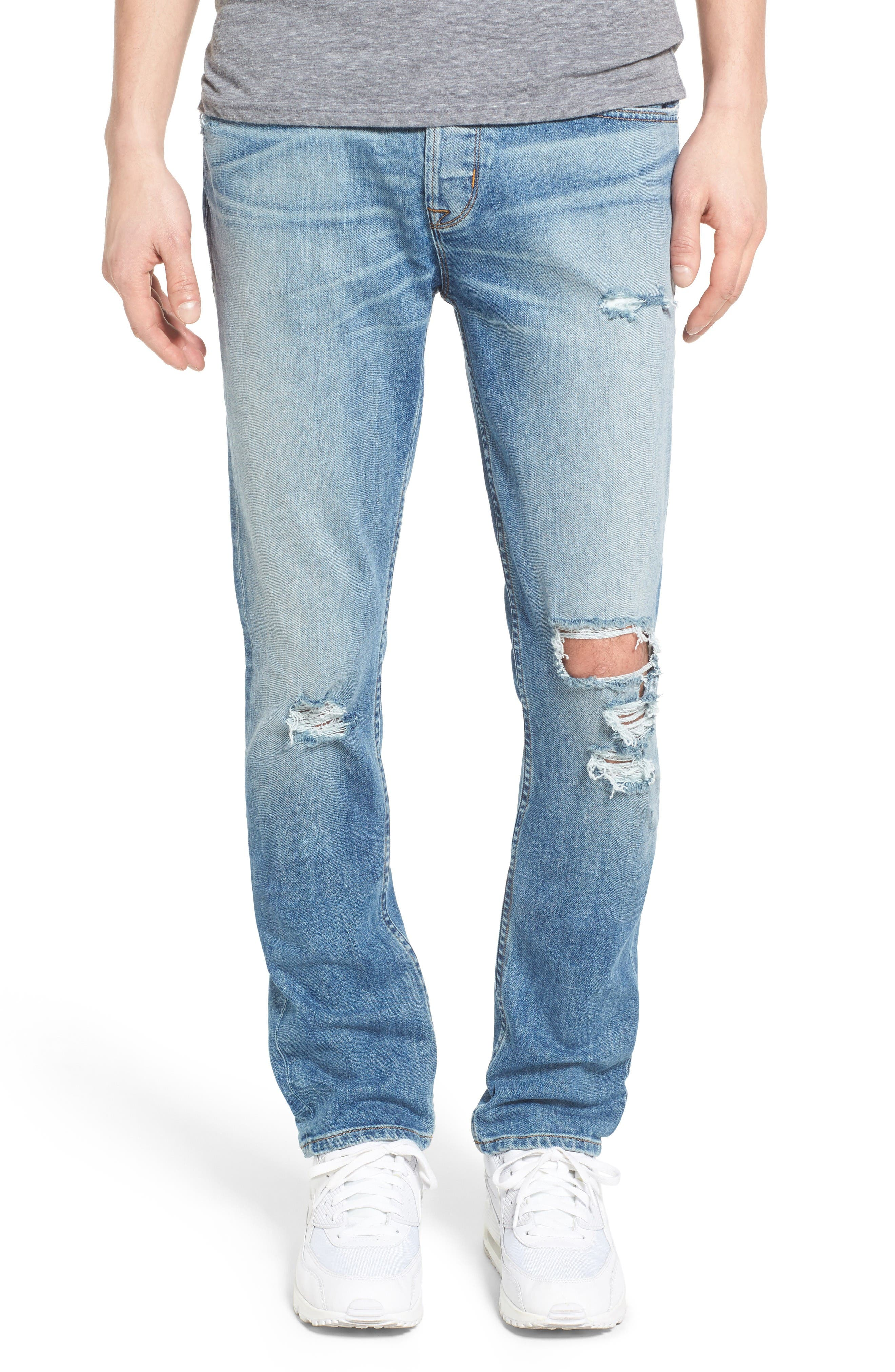 Sator Skinny Fit Jeans,                             Main thumbnail 1, color,                             Banned