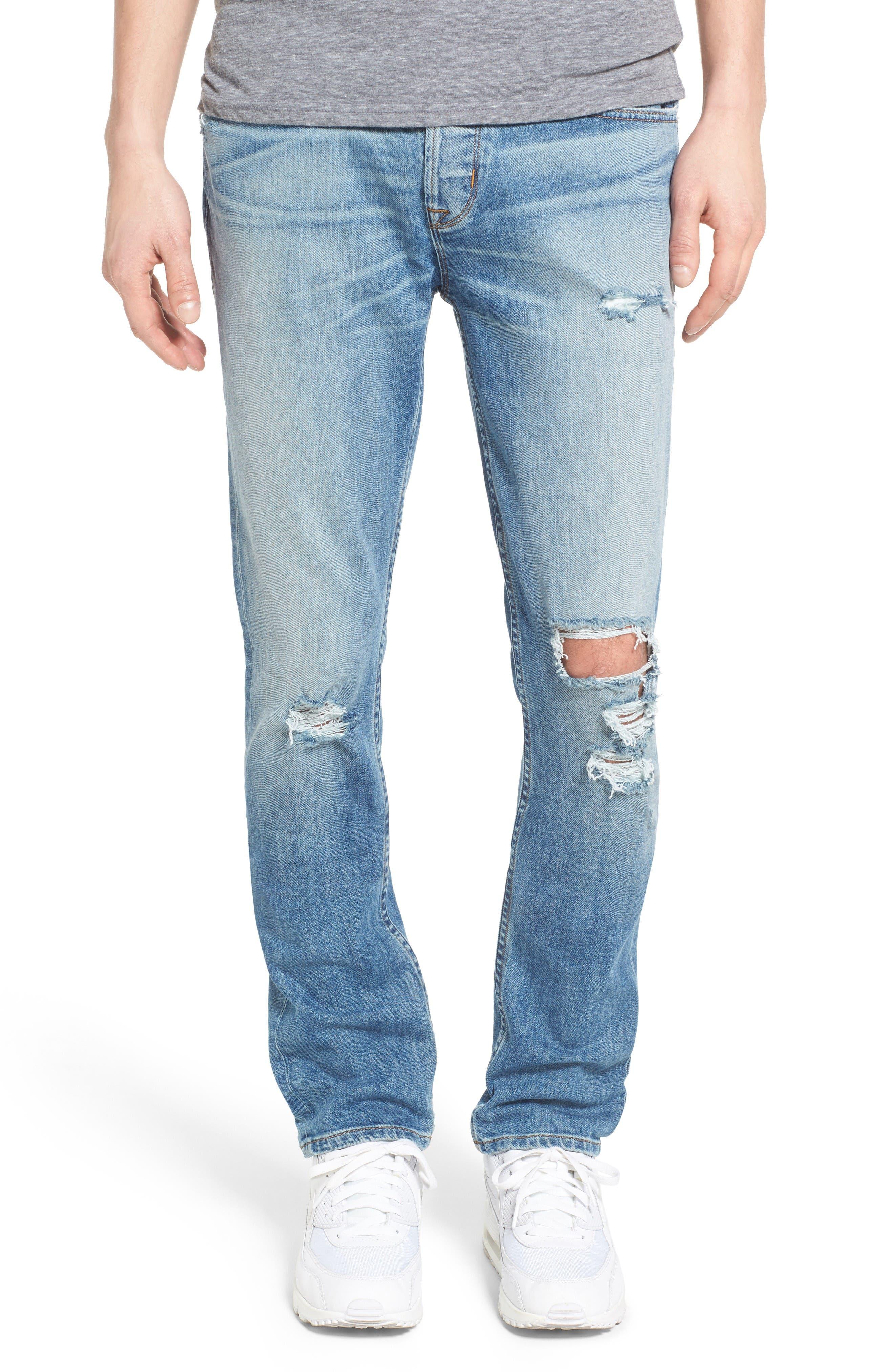 Hudson Jeans Sator Skinny Fit Jeans (Banned)