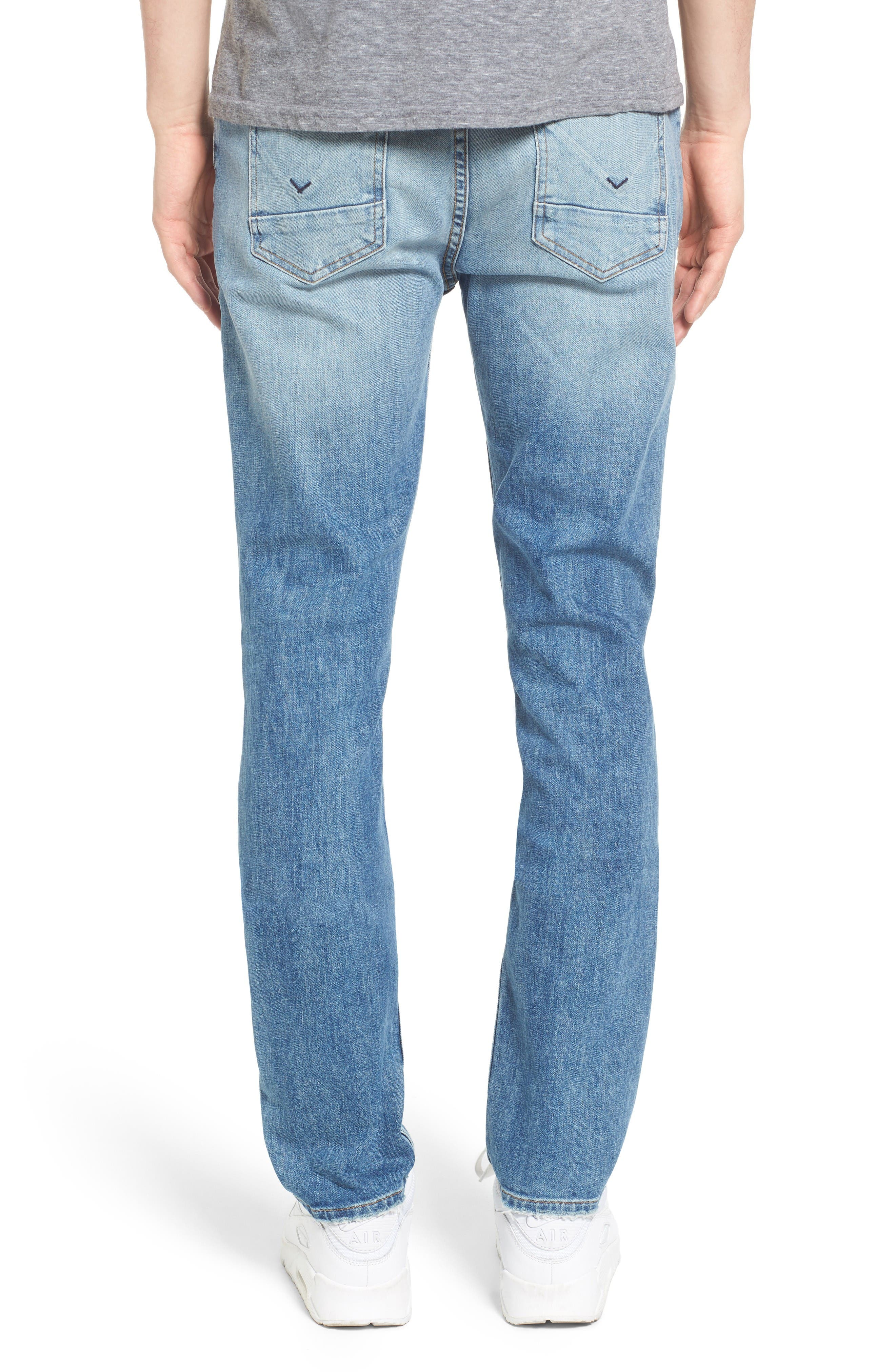 Alternate Image 2  - Hudson Jeans Sator Skinny Fit Jeans (Banned)
