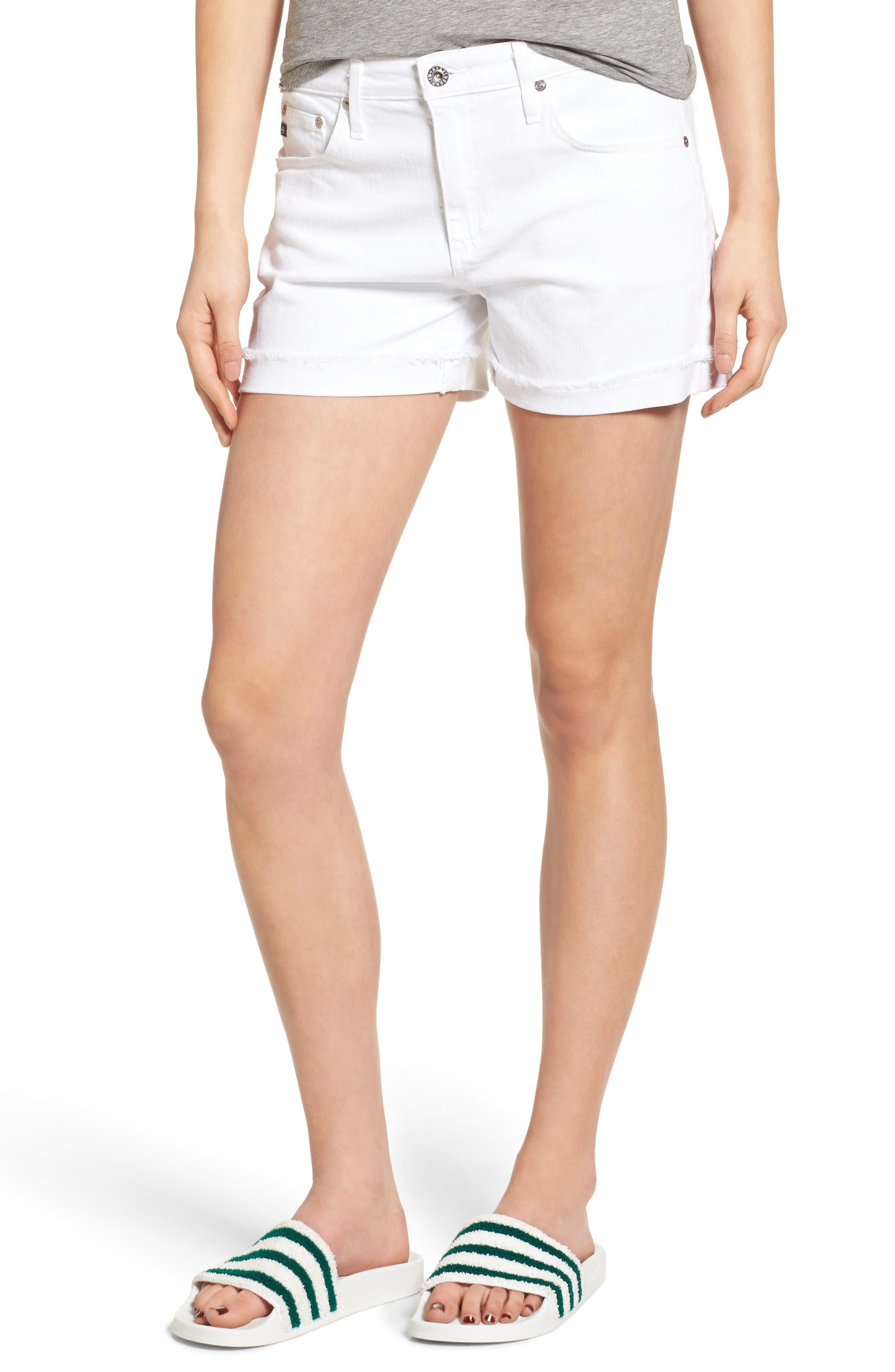 Main Image - AG 'Hailey' Boyfriend Shorts