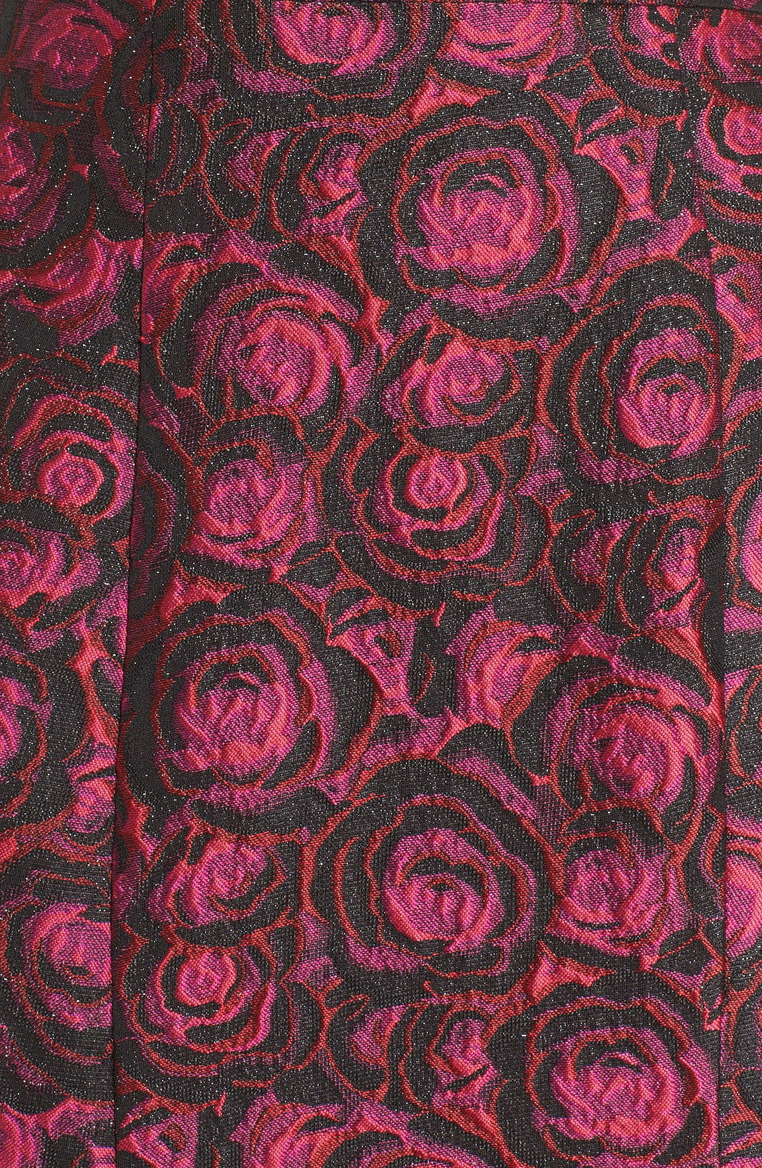 Alternate Image 5  - La Femme Two-Piece Gown