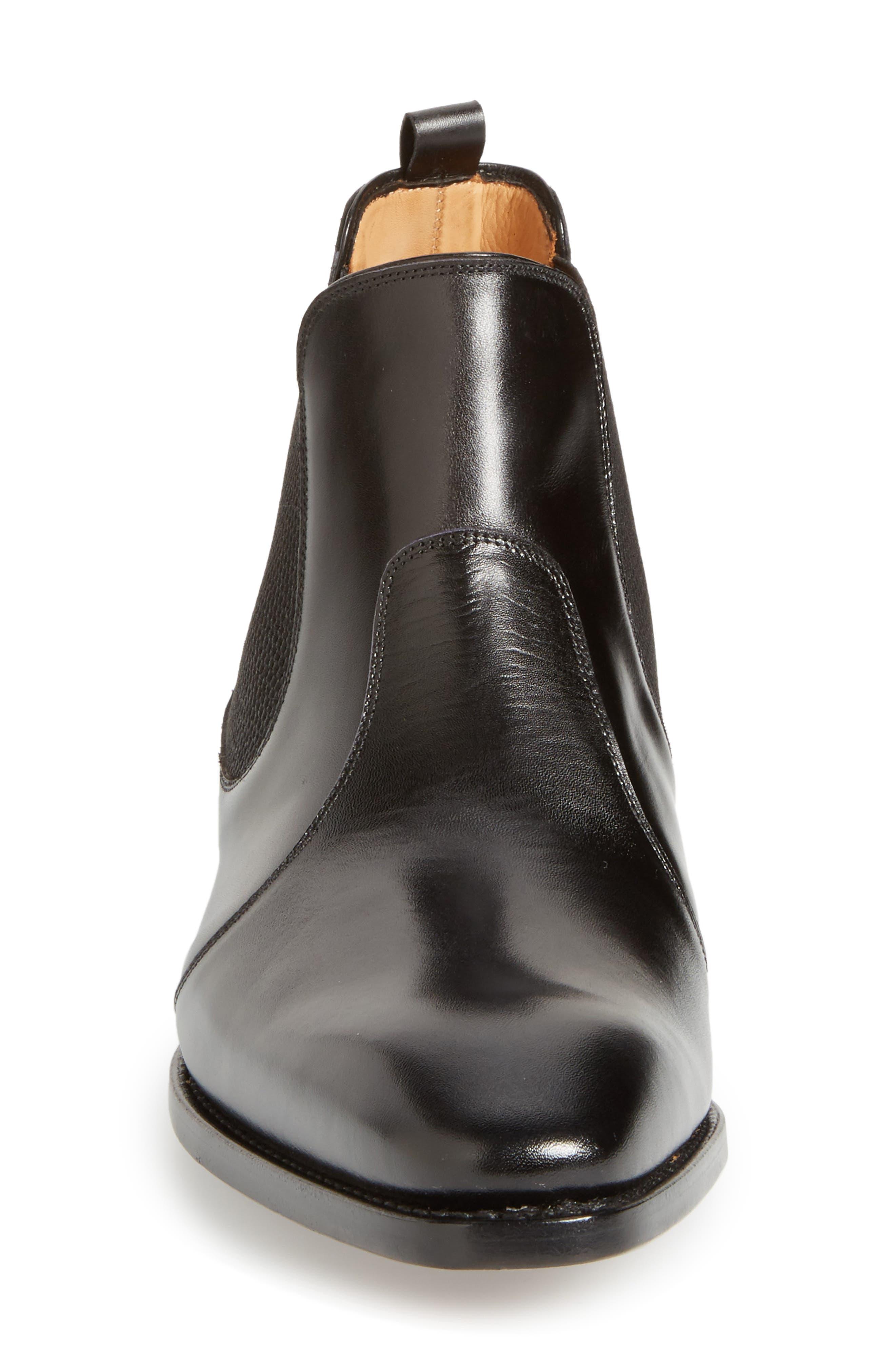 by Mezlan G112 Chelsea Boot,                             Alternate thumbnail 3, color,                             Black