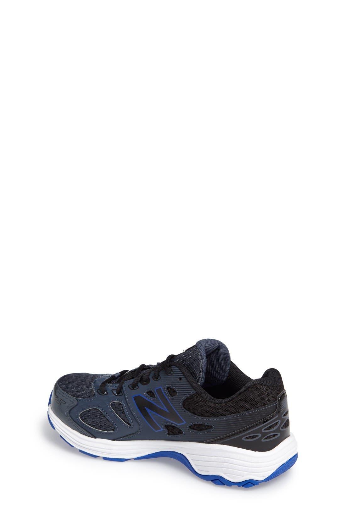 680v3 Sneaker,                             Alternate thumbnail 2, color,                             Grey/Blue