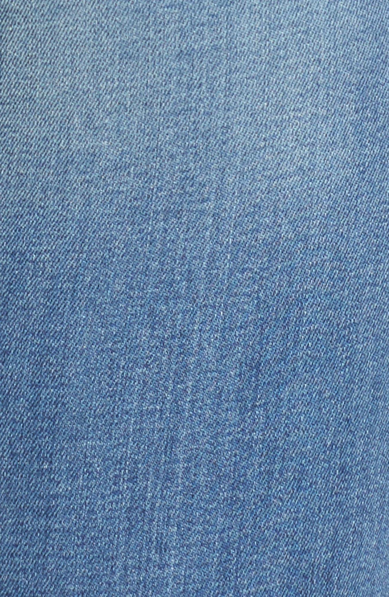 Florence Instasculpt Skinny Jeans,                             Alternate thumbnail 5, color,                             Godiva
