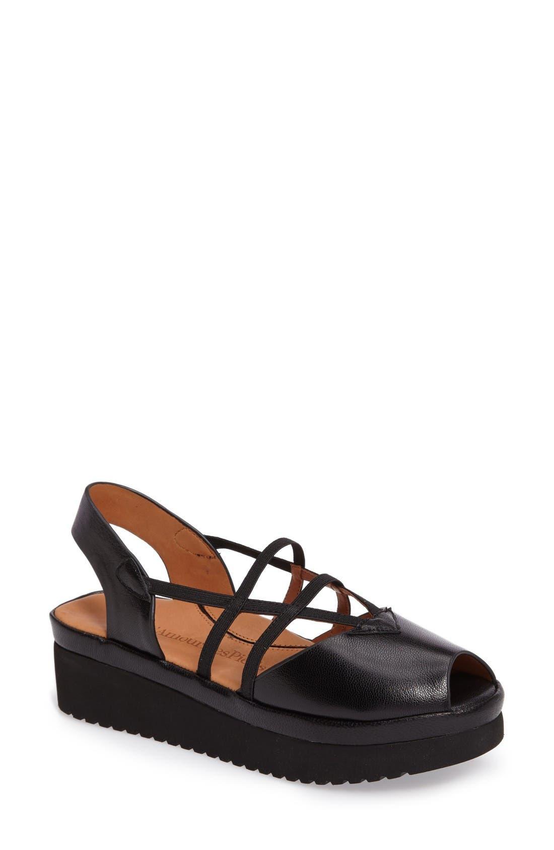 L'Amour des Pieds Adelais Platform Wedge Sandal (Women)