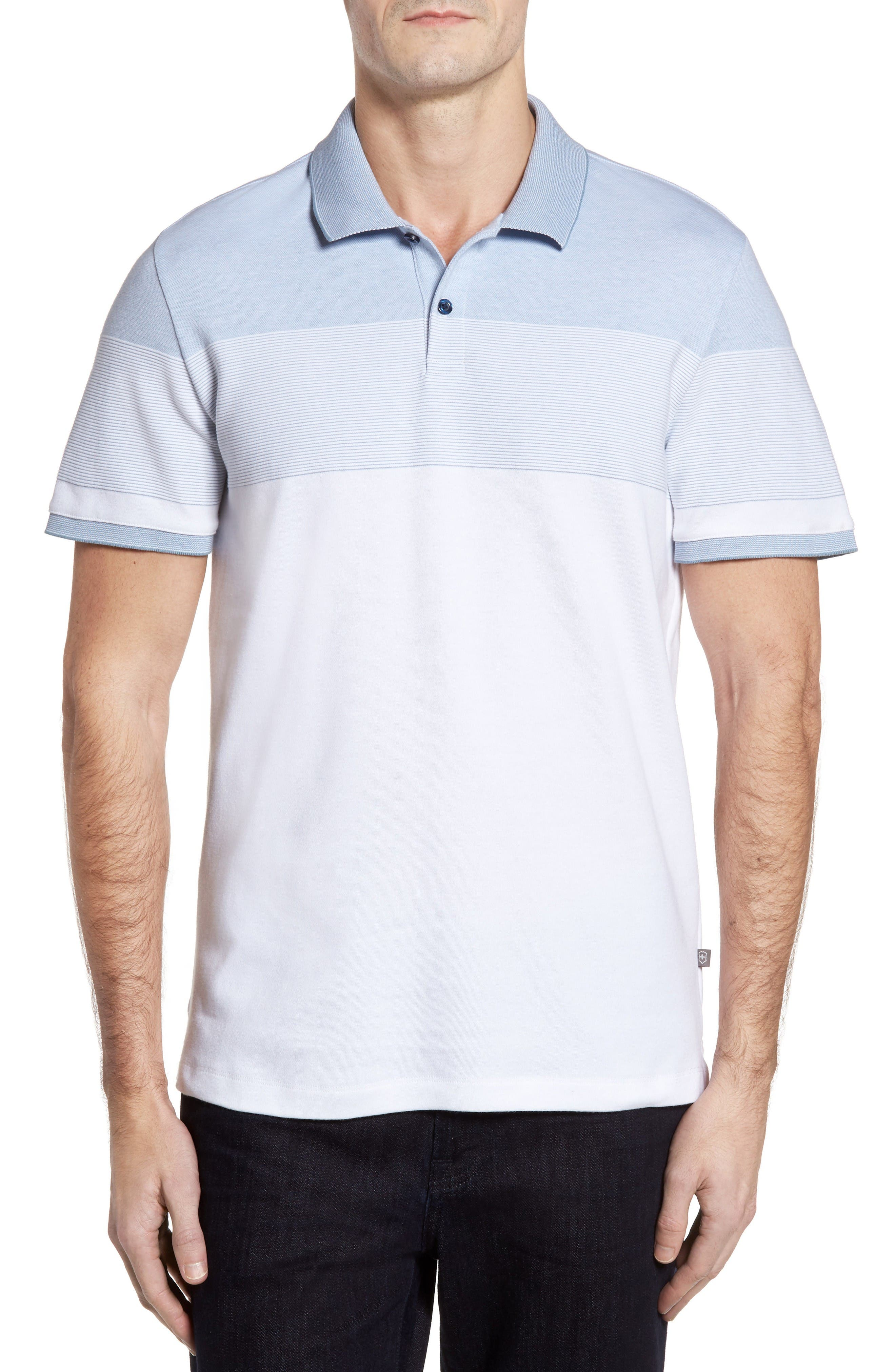 Victorinox Swiss Army® Novelty Stripe Polo