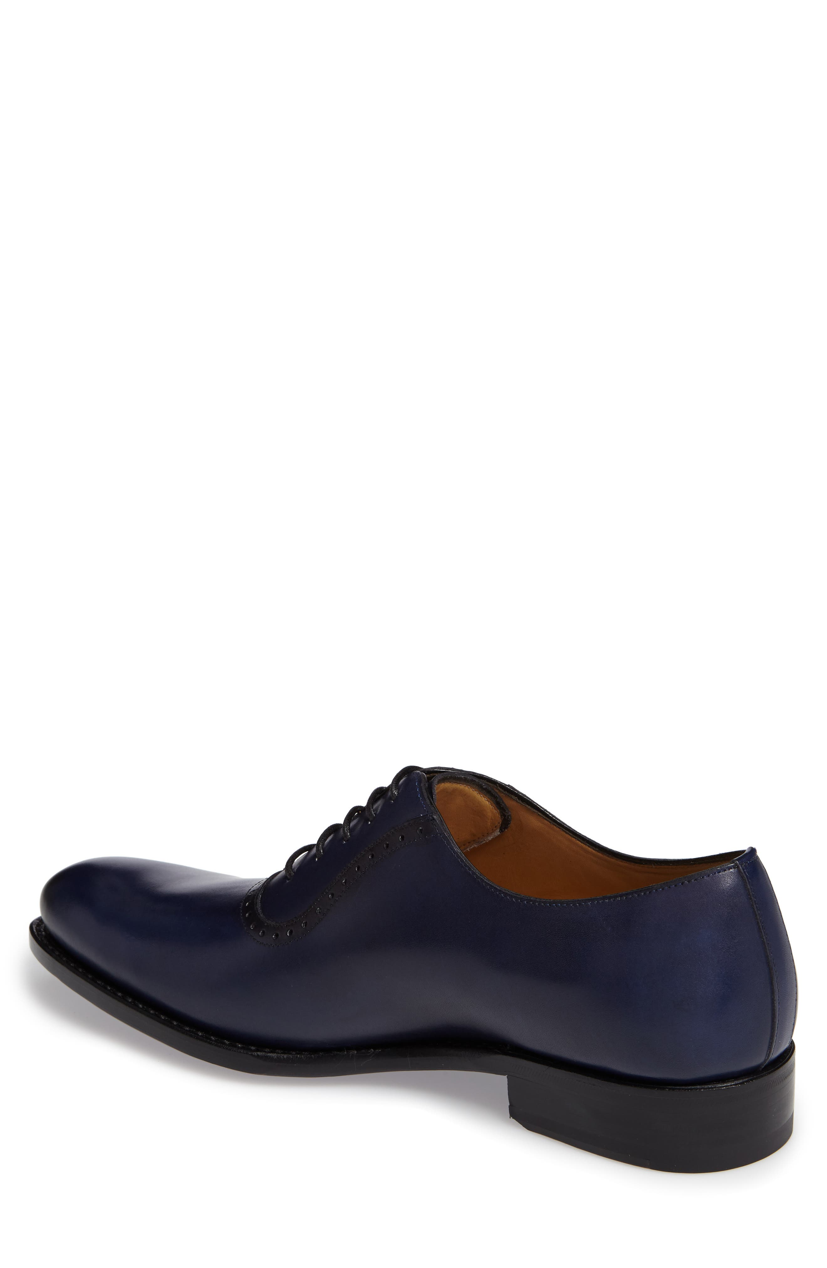 by Mezlan G105 Plain Toe Oxford,                             Alternate thumbnail 2, color,                             Blue