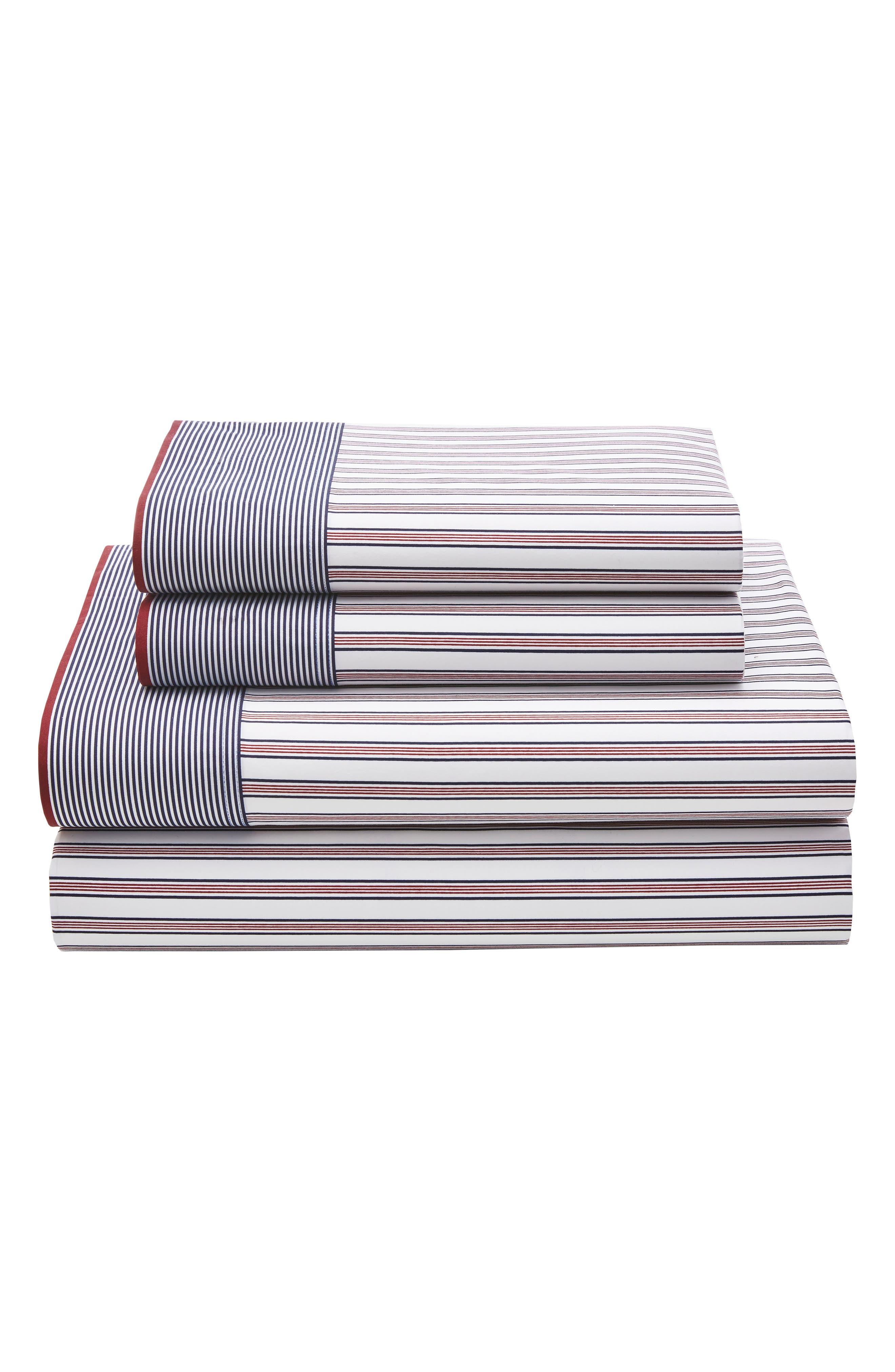 Tommy Hilfiger Ellington Stripe Sheet Set