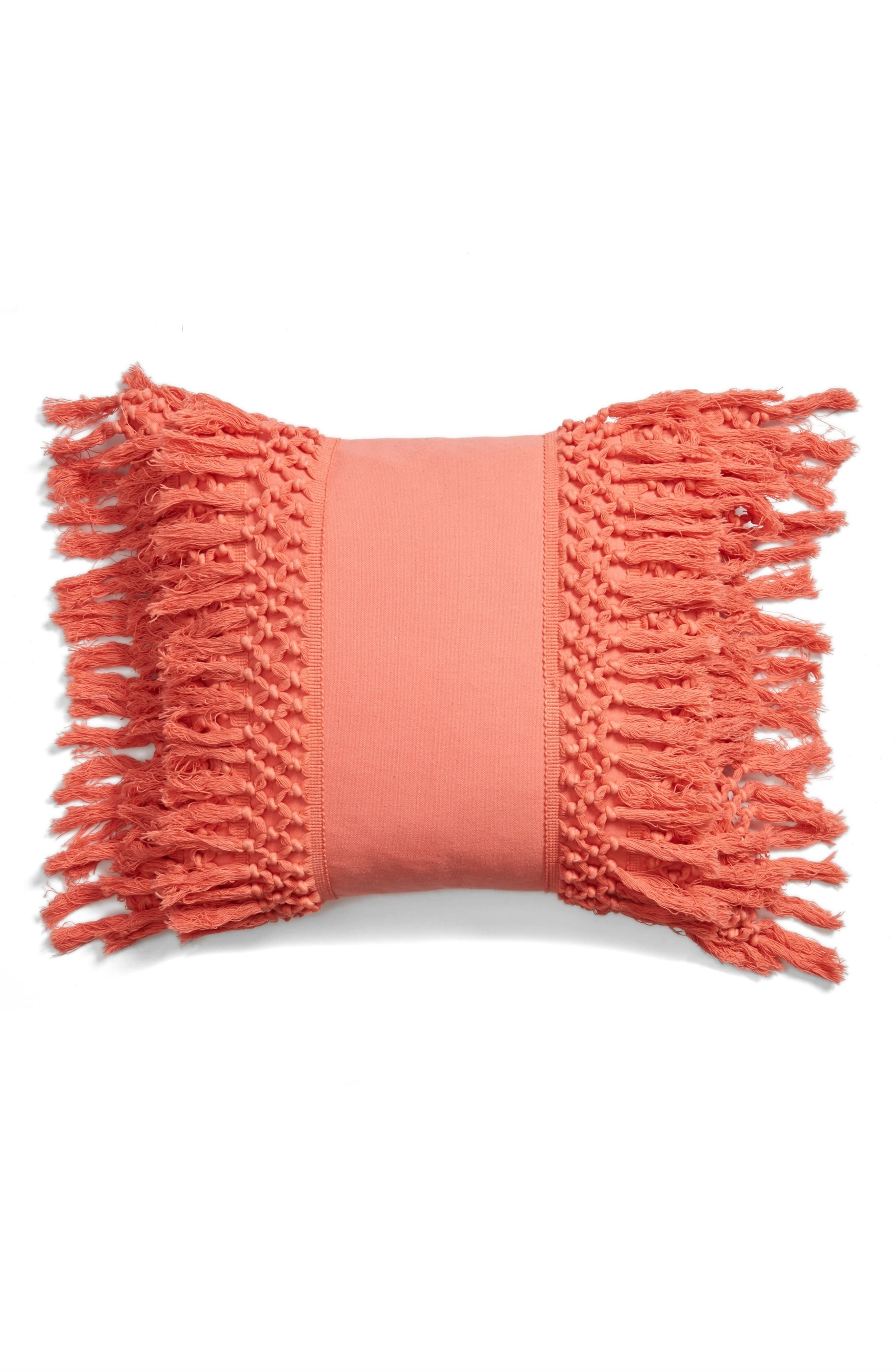 Main Image - Levtex Fringe Pillow