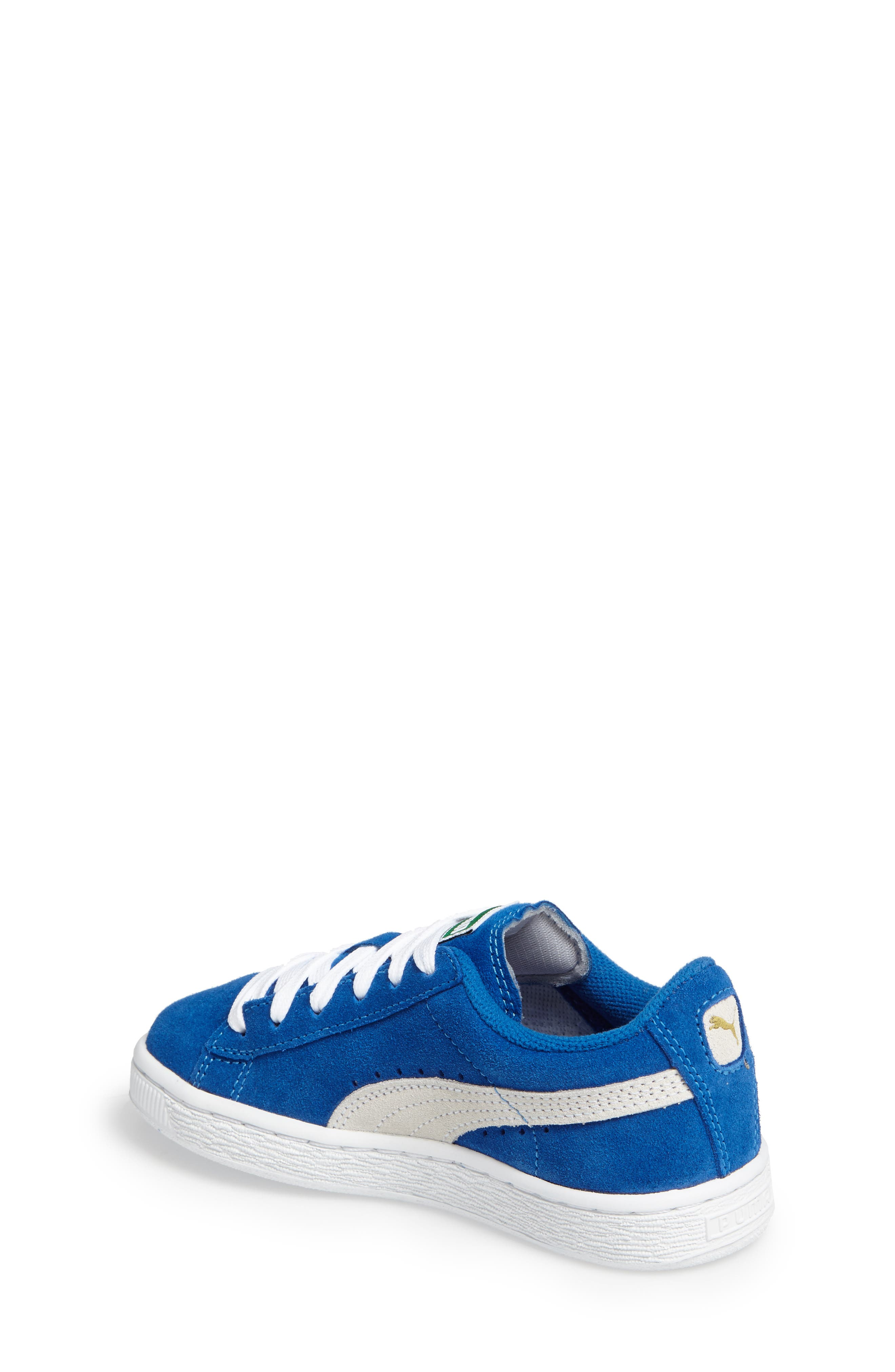 Suede PS Sneaker,                             Alternate thumbnail 2, color,                             Blue