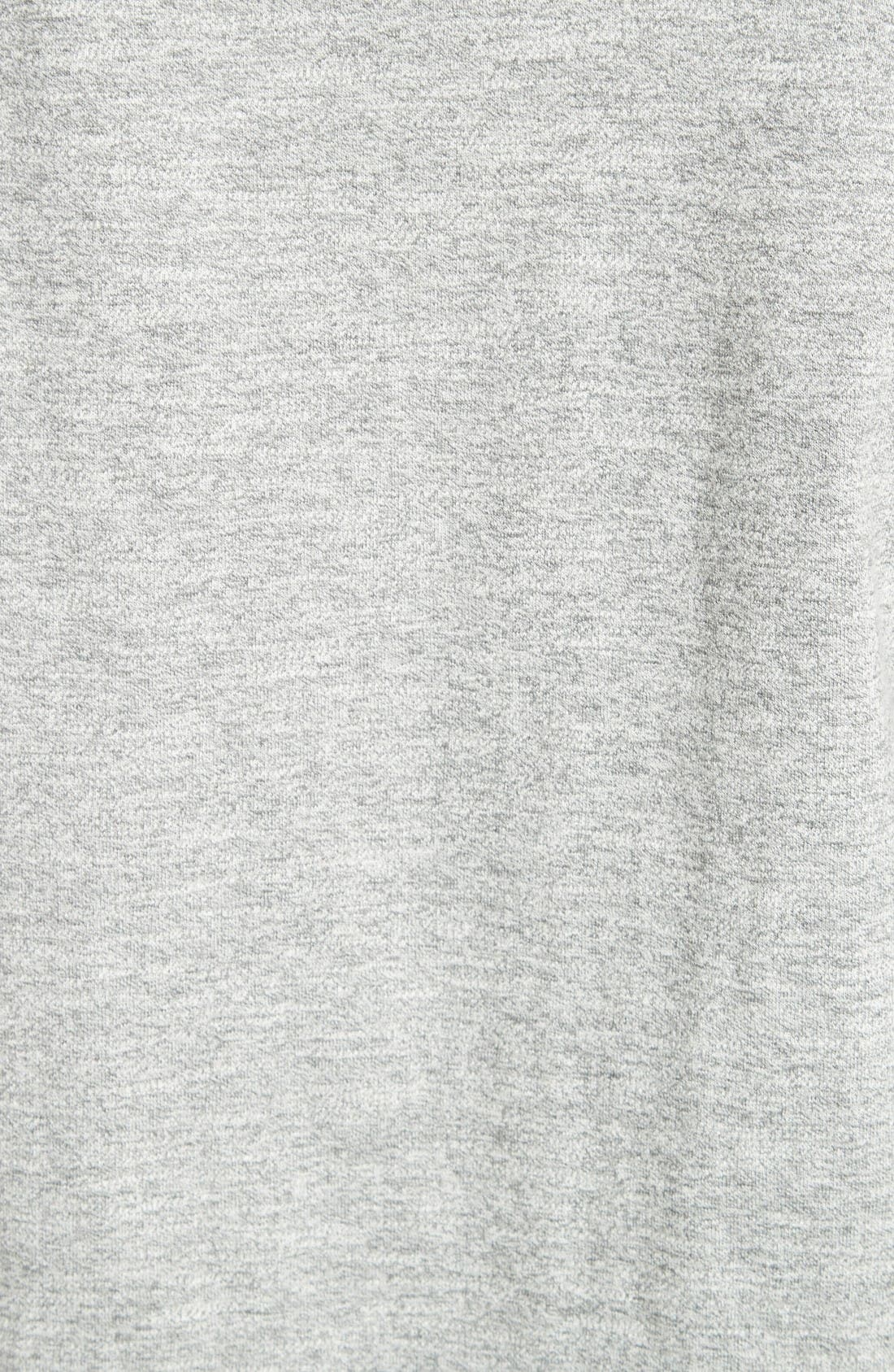 Colorblock Raglan Sleeve Sweatshirt,                             Alternate thumbnail 5, color,                             Grey