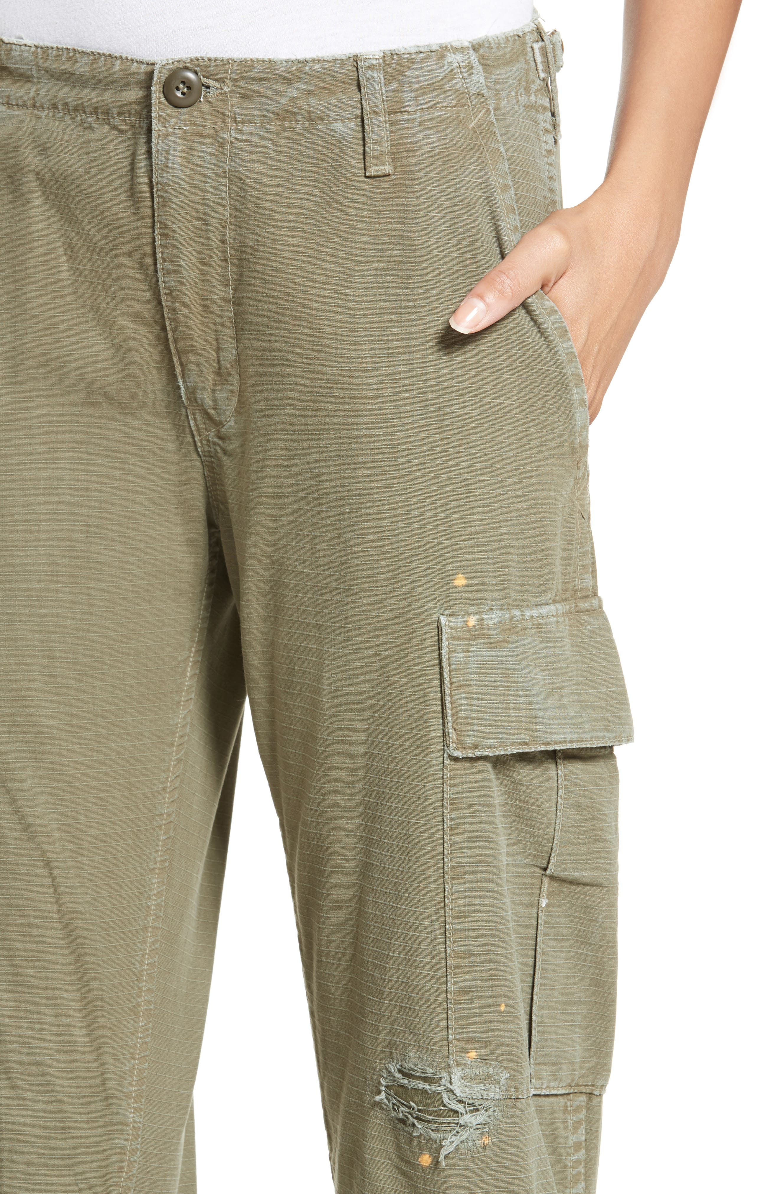 Cargo Pants,                             Alternate thumbnail 5, color,                             Army Green
