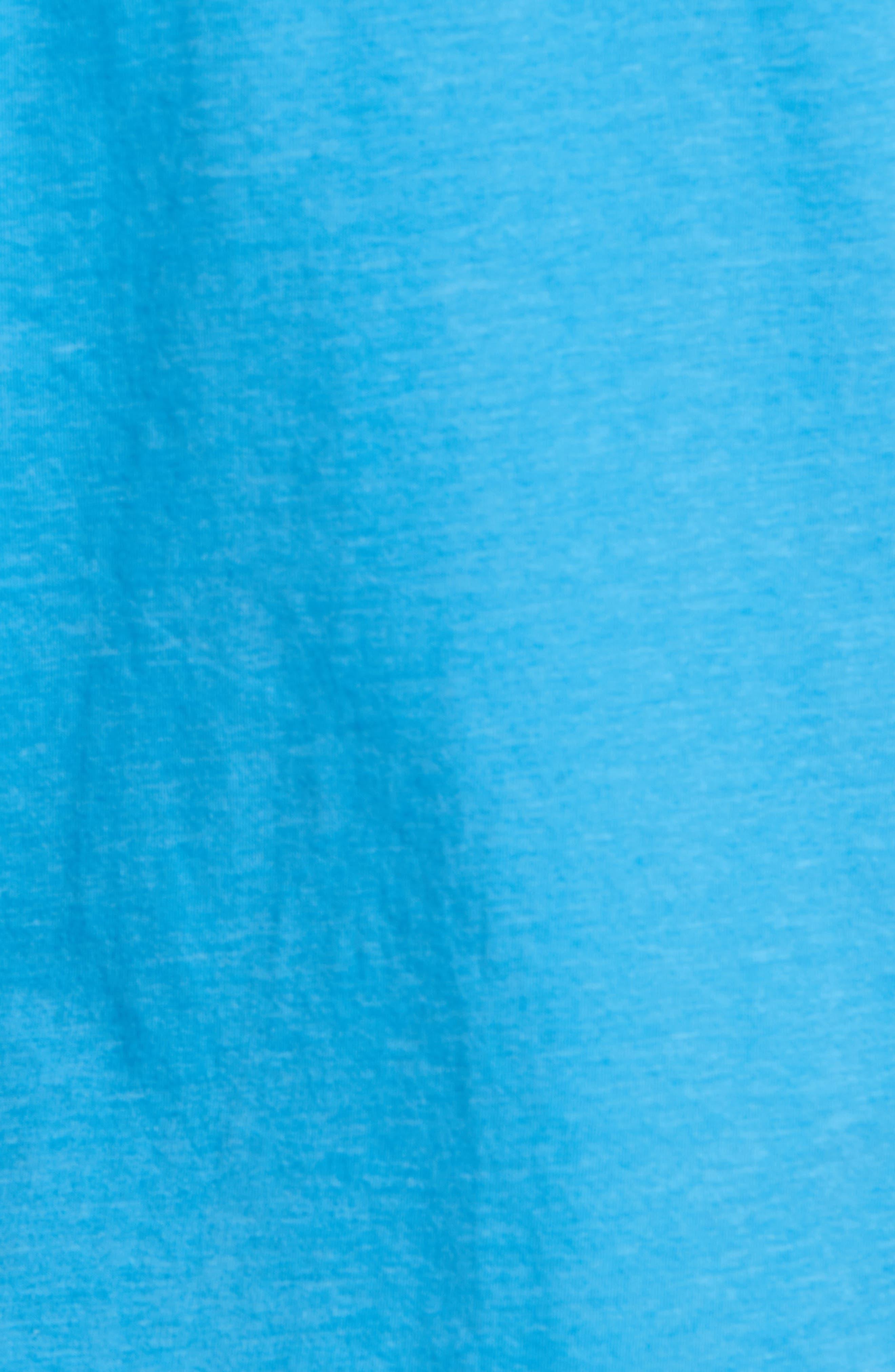 Gus Pad Pocket V-Neck T-Shirt,                             Alternate thumbnail 5, color,                             Mykonos Blue