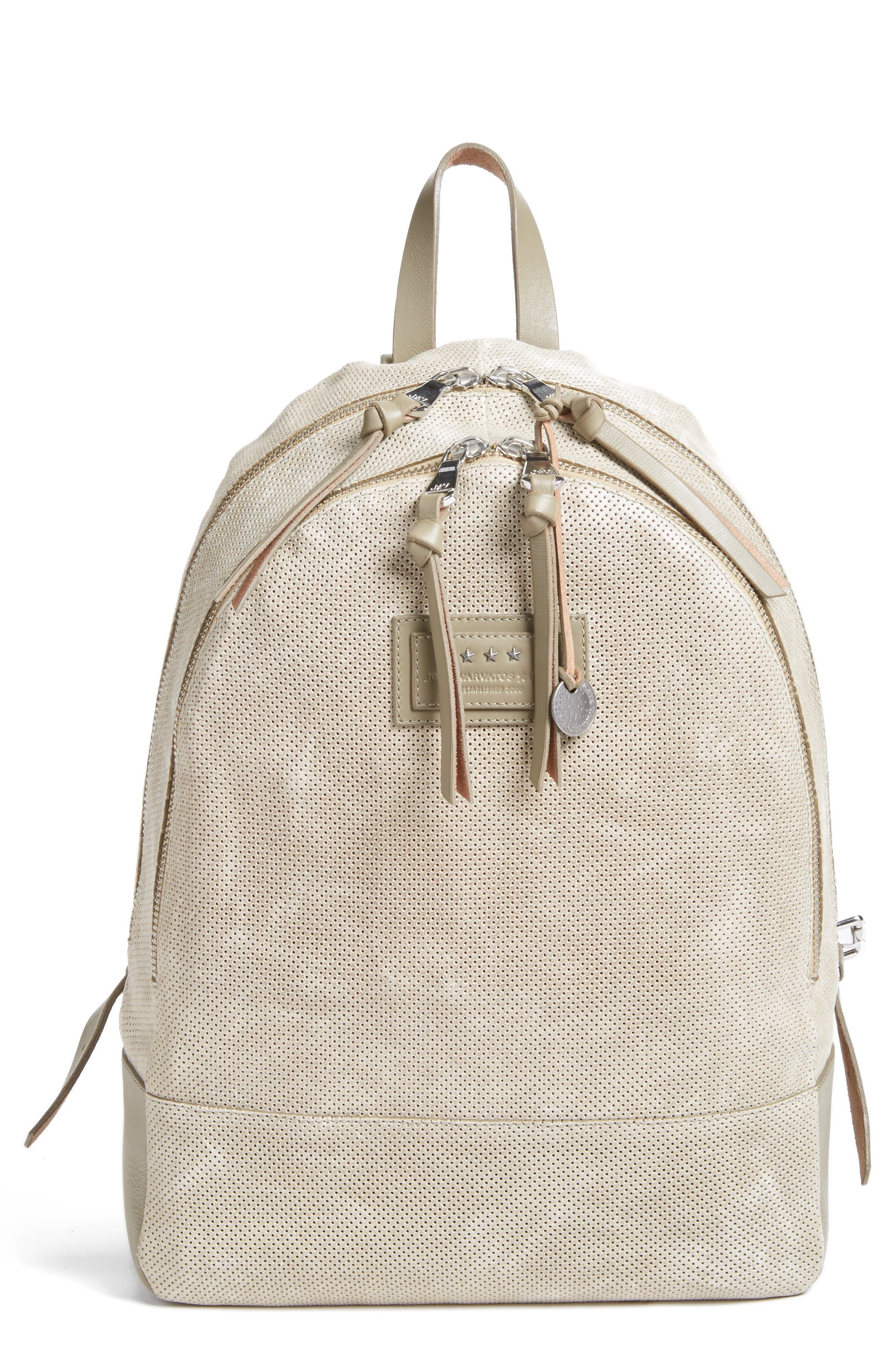John Varvatos Star USA Suede Backpack