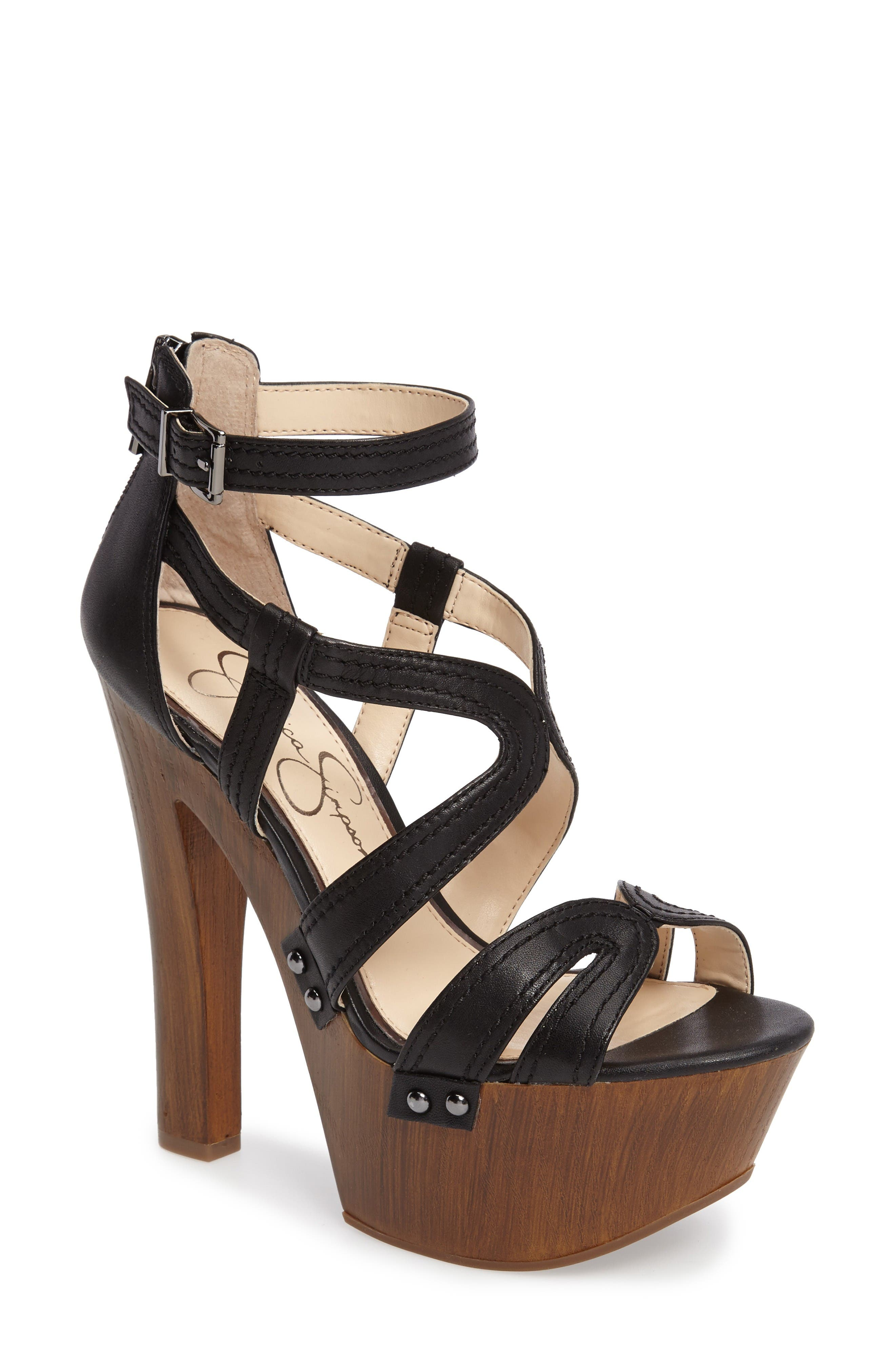 Alternate Image 1 Selected - Jessica Simpson Dorrin Platform Sandal (Women)