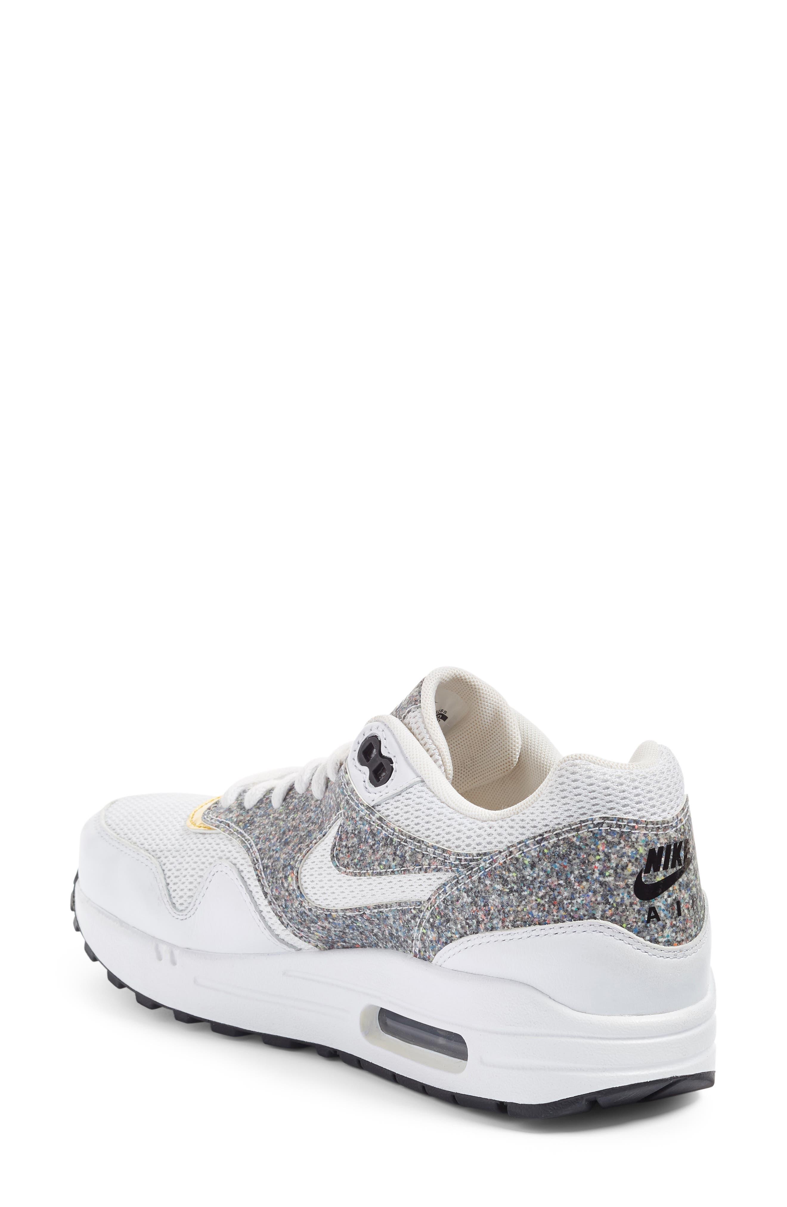 Alternate Image 2  - Nike Air Max 1 SE Sneaker (Women)