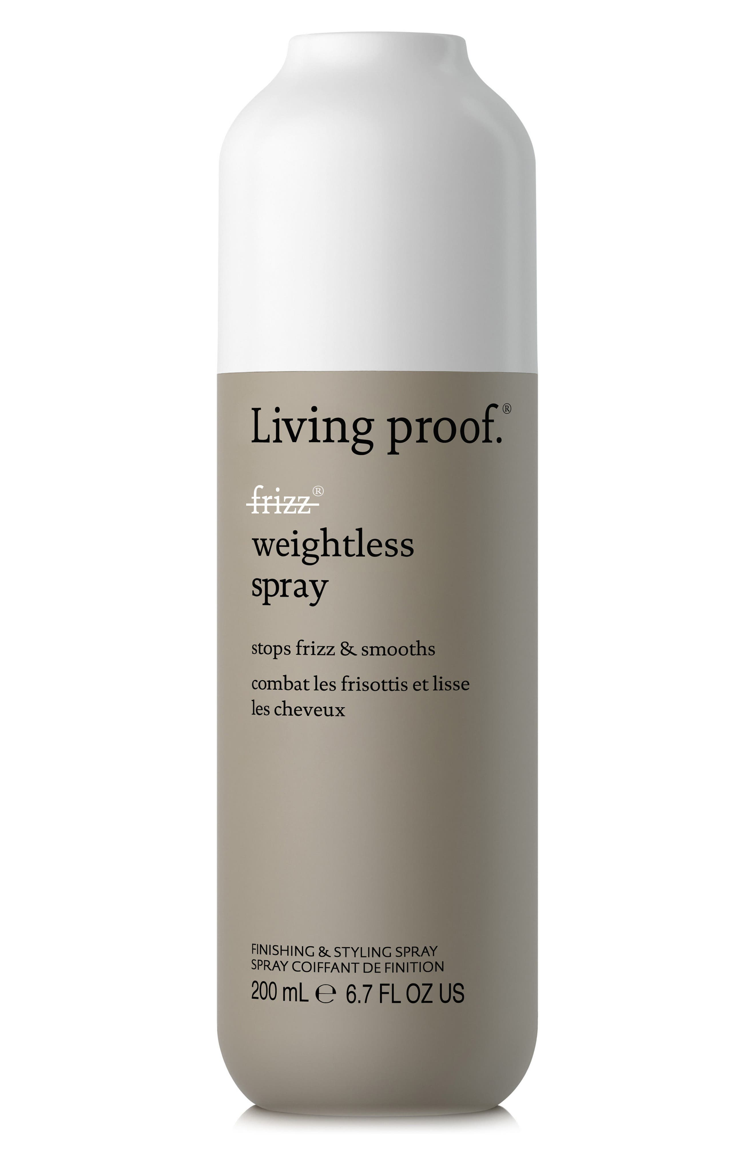 No Frizz Weightless Styling Spray,                         Main,                         color, No Color
