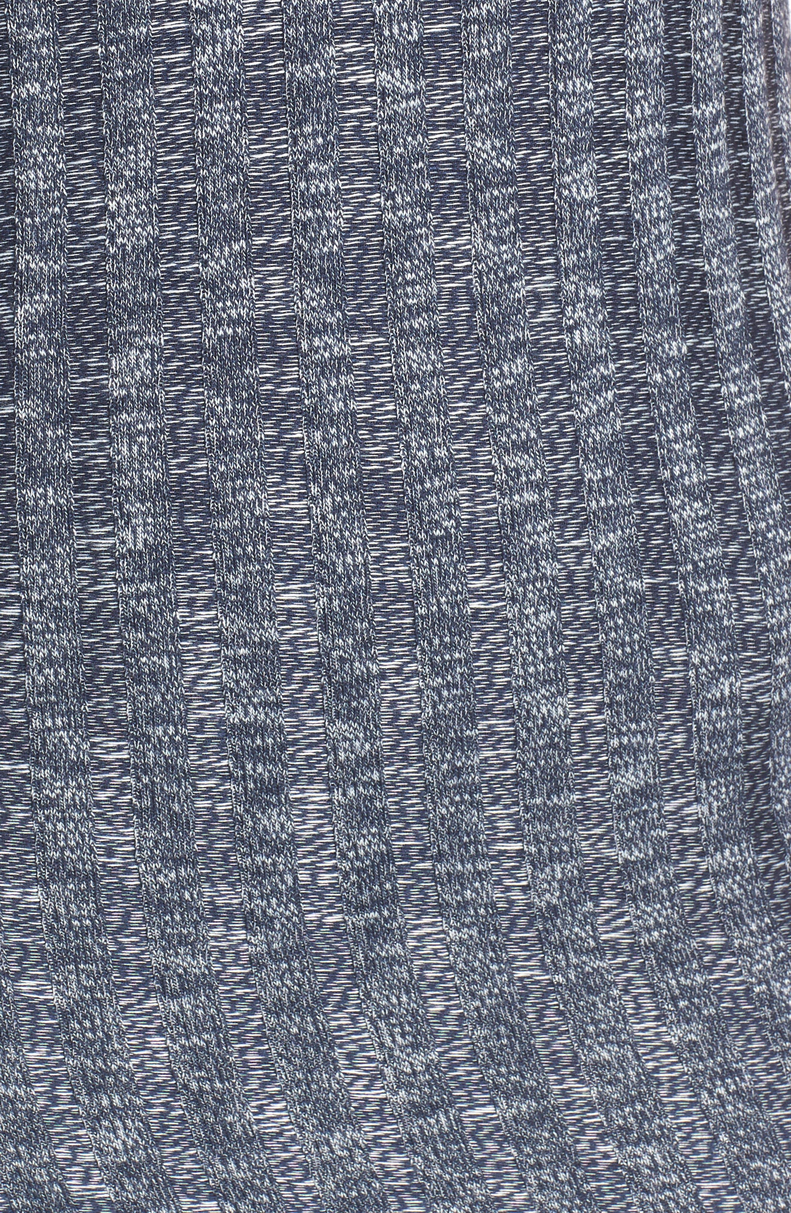 Knit Slipdress,                             Alternate thumbnail 5, color,                             Navy