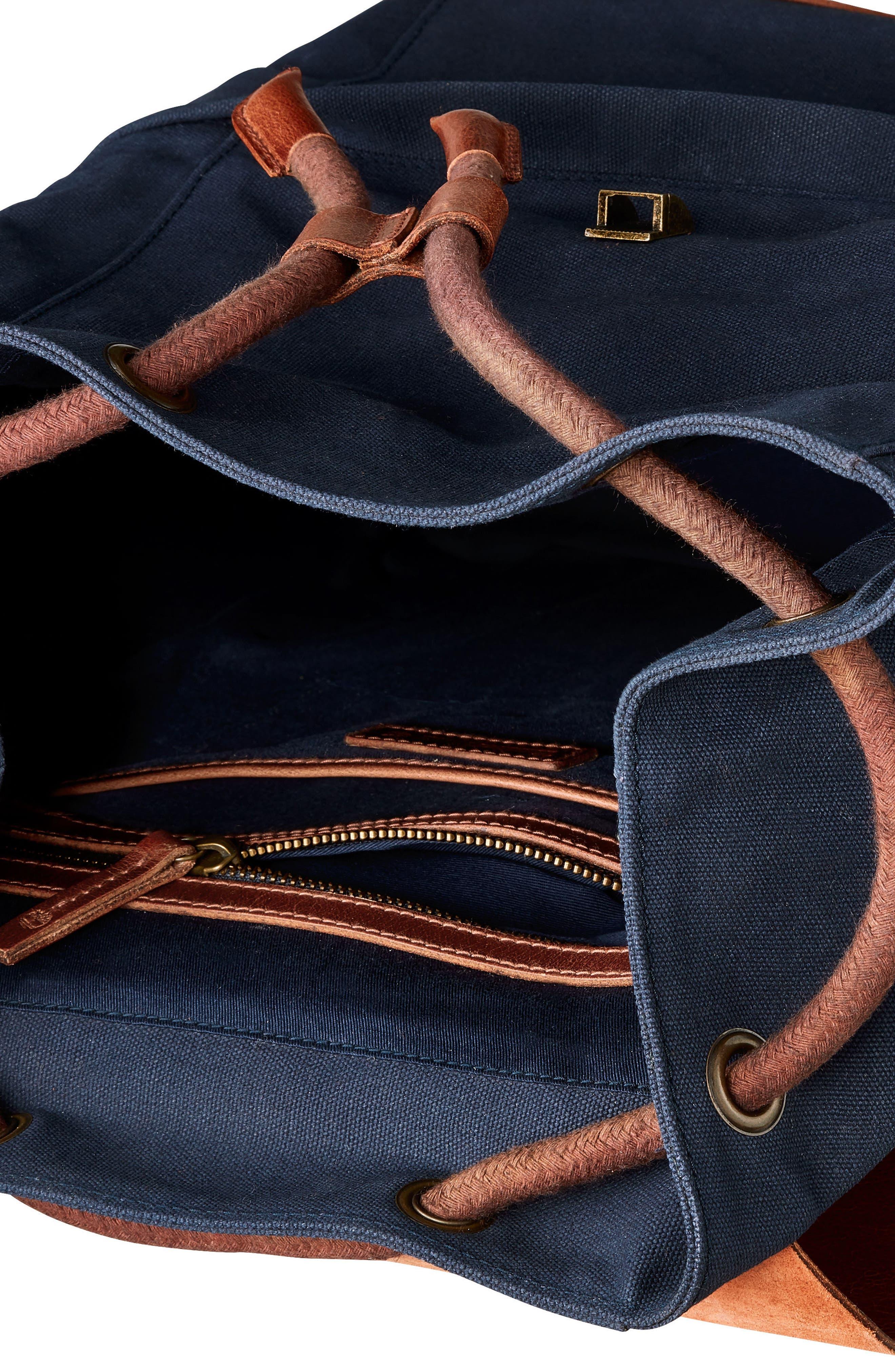 Nantasket Backpack,                             Alternate thumbnail 3, color,                             Black Iris