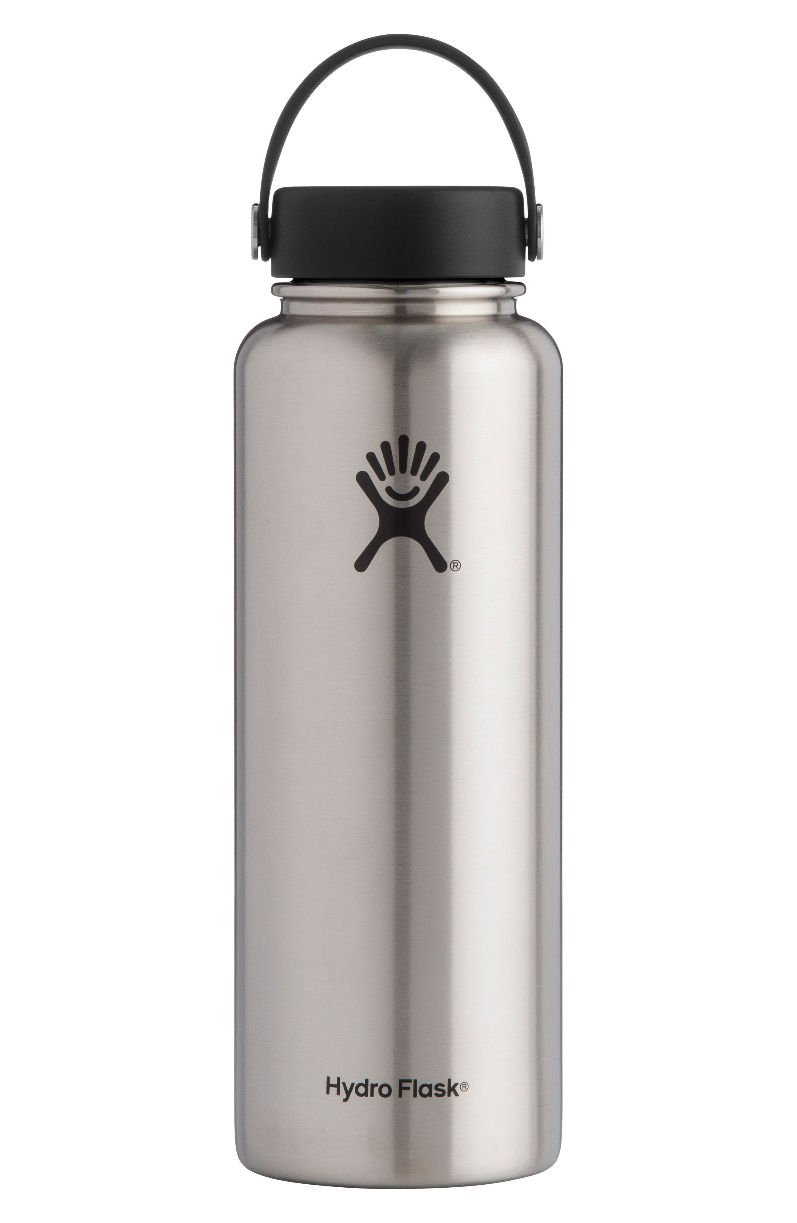 Alternate Image 1 Selected - Hydro Flask 40-Ounce Wide Mouth Cap Bottle