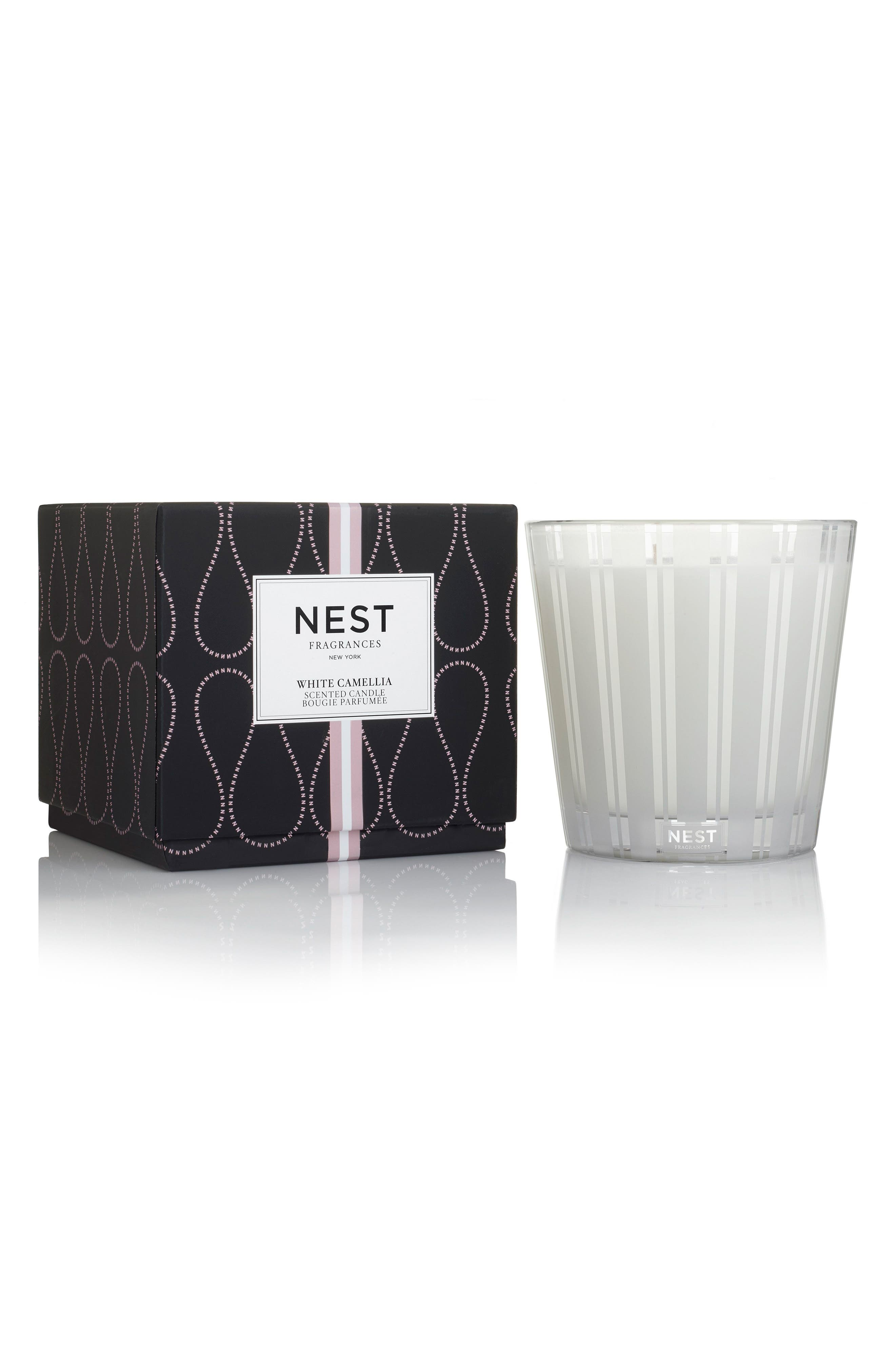 NEST Fragrances White Camellia Three-Wick Candle