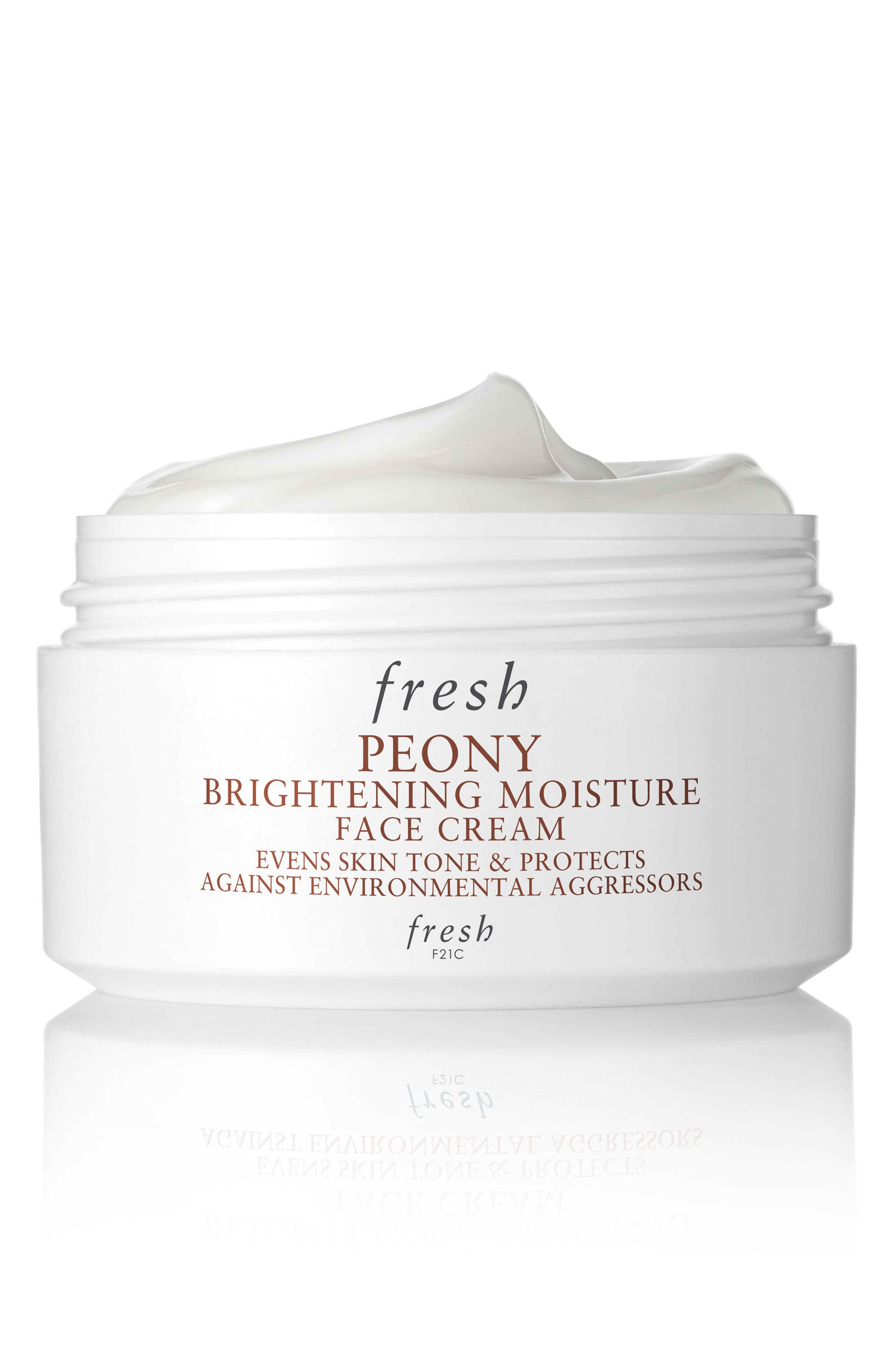 Peony Brightening Moisture Face Cream,                             Main thumbnail 1, color,                             No Color