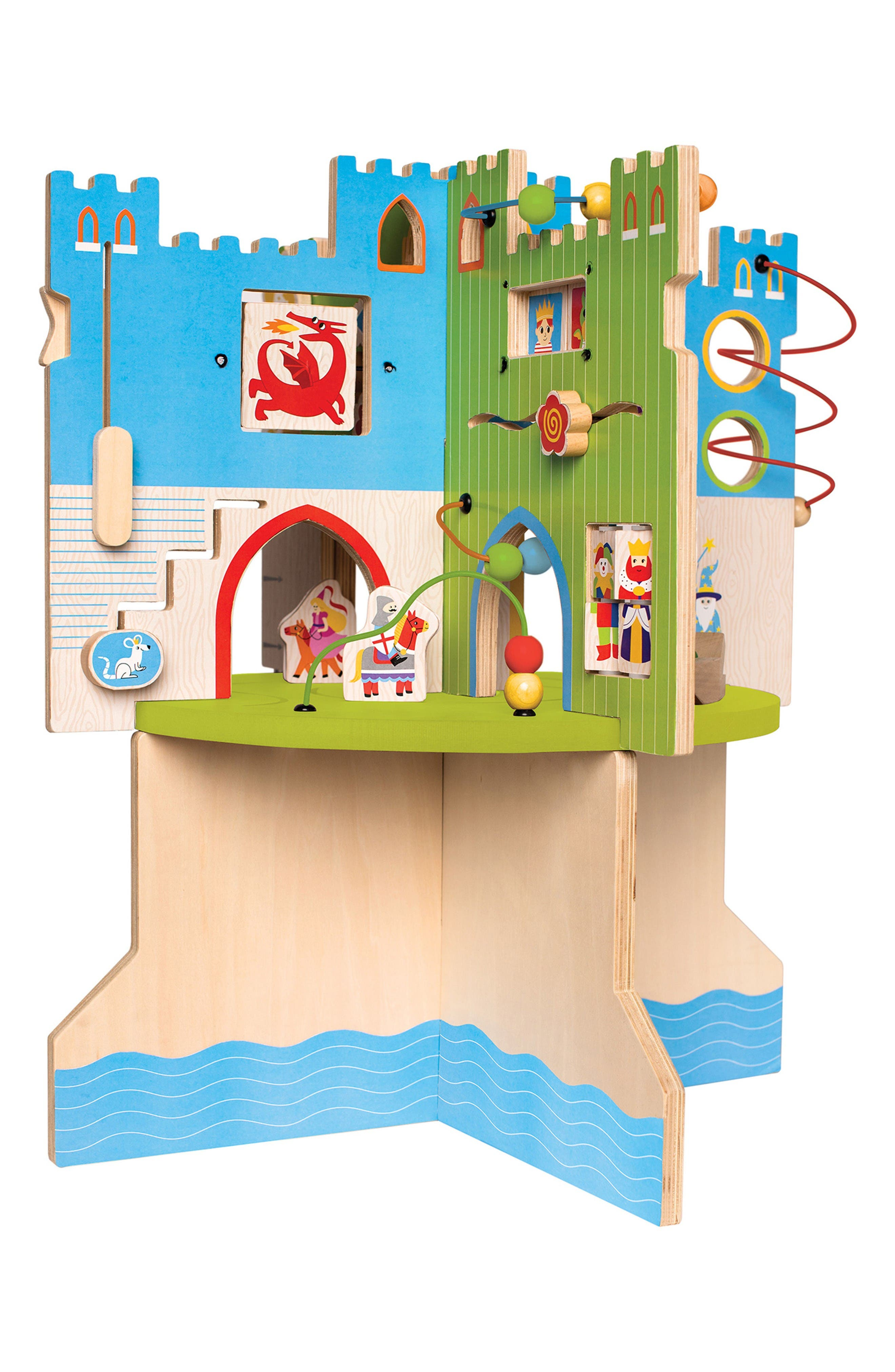 Storybook Castle Activity Center,                         Main,                         color, Blue