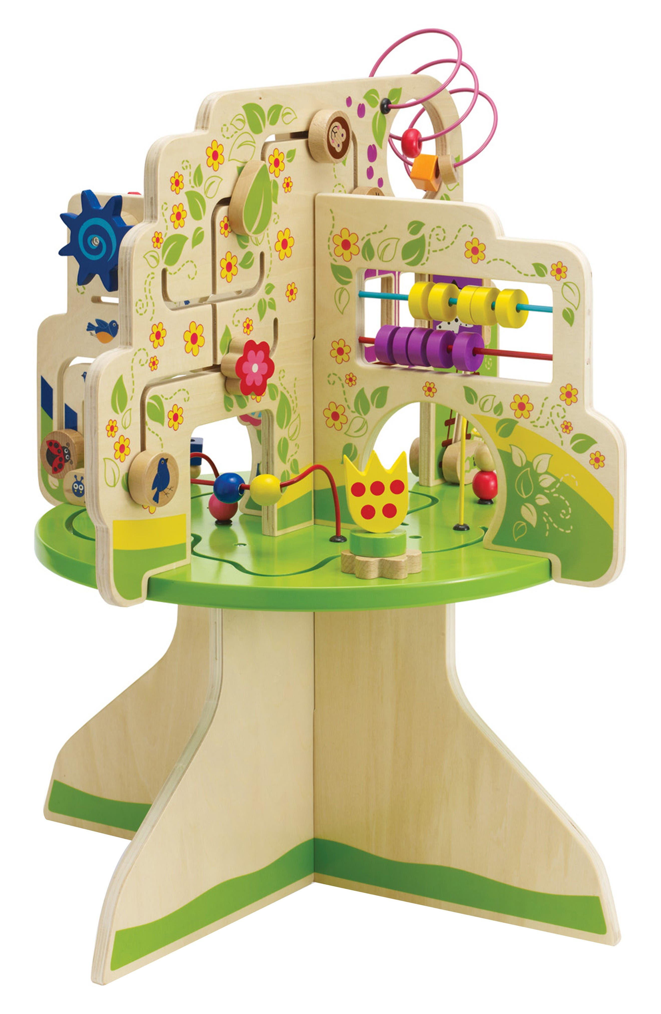 Wooden Tree Top Adventure Activity Center,                             Alternate thumbnail 3, color,                             Green